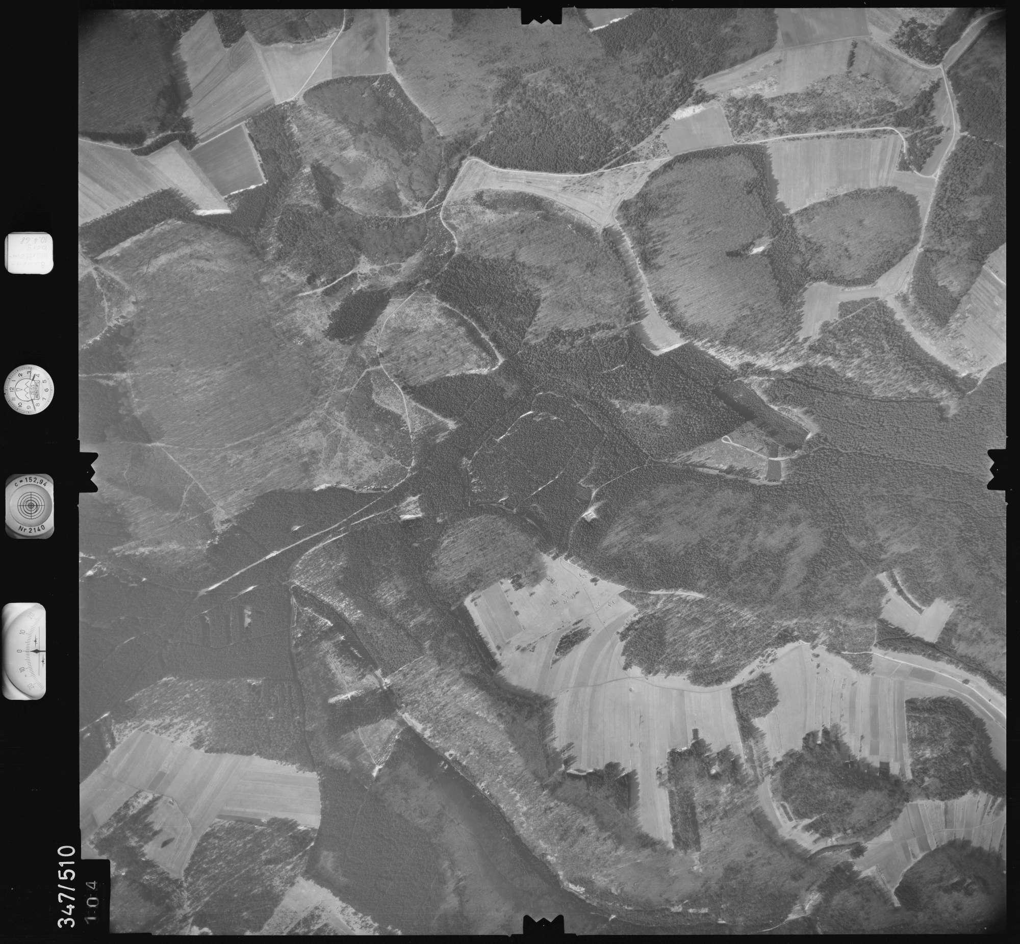 Luftbild: Film 43 Bildnr. 104, Bild 1
