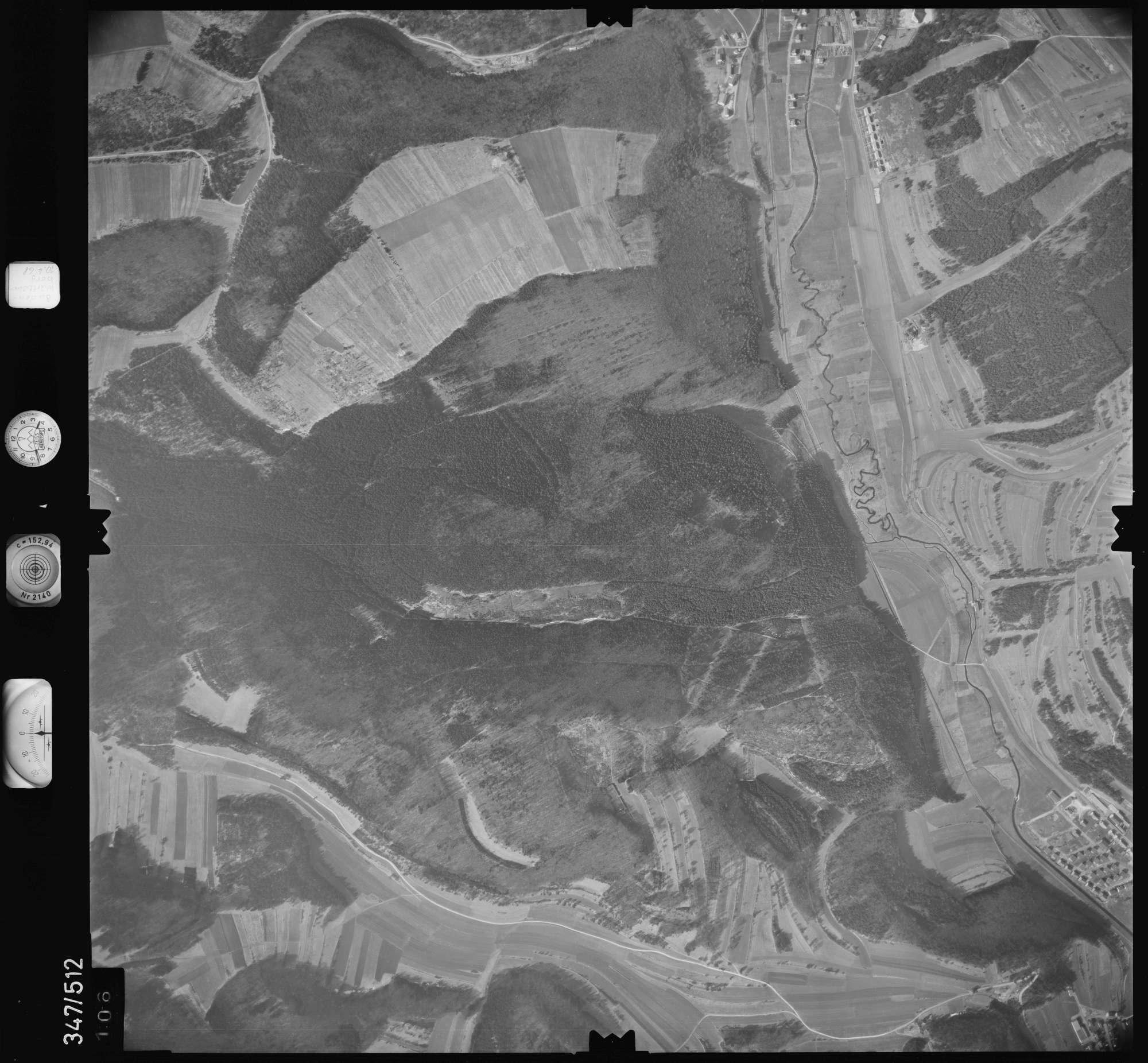 Luftbild: Film 43 Bildnr. 106, Bild 1