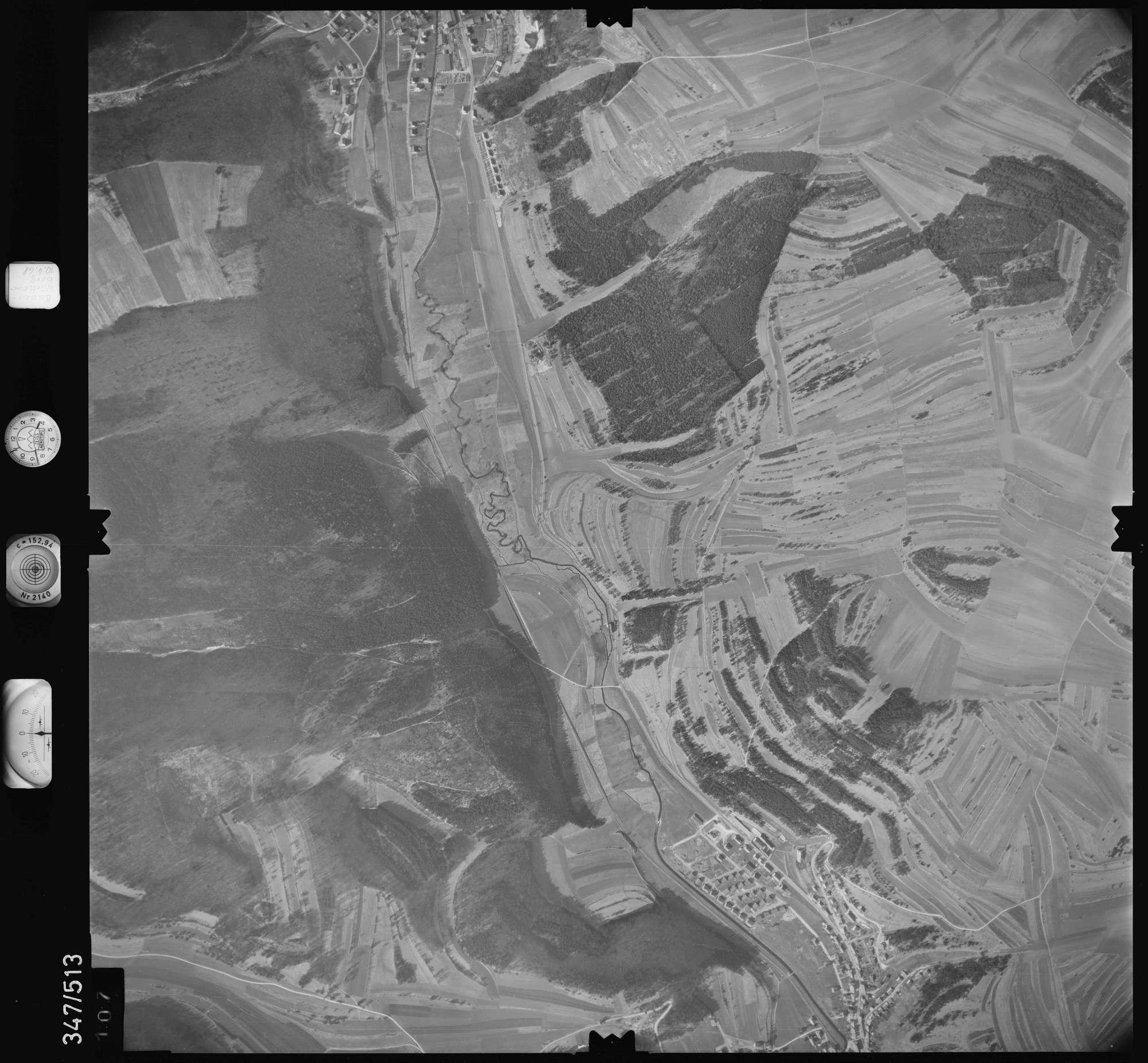 Luftbild: Film 43 Bildnr. 107, Bild 1