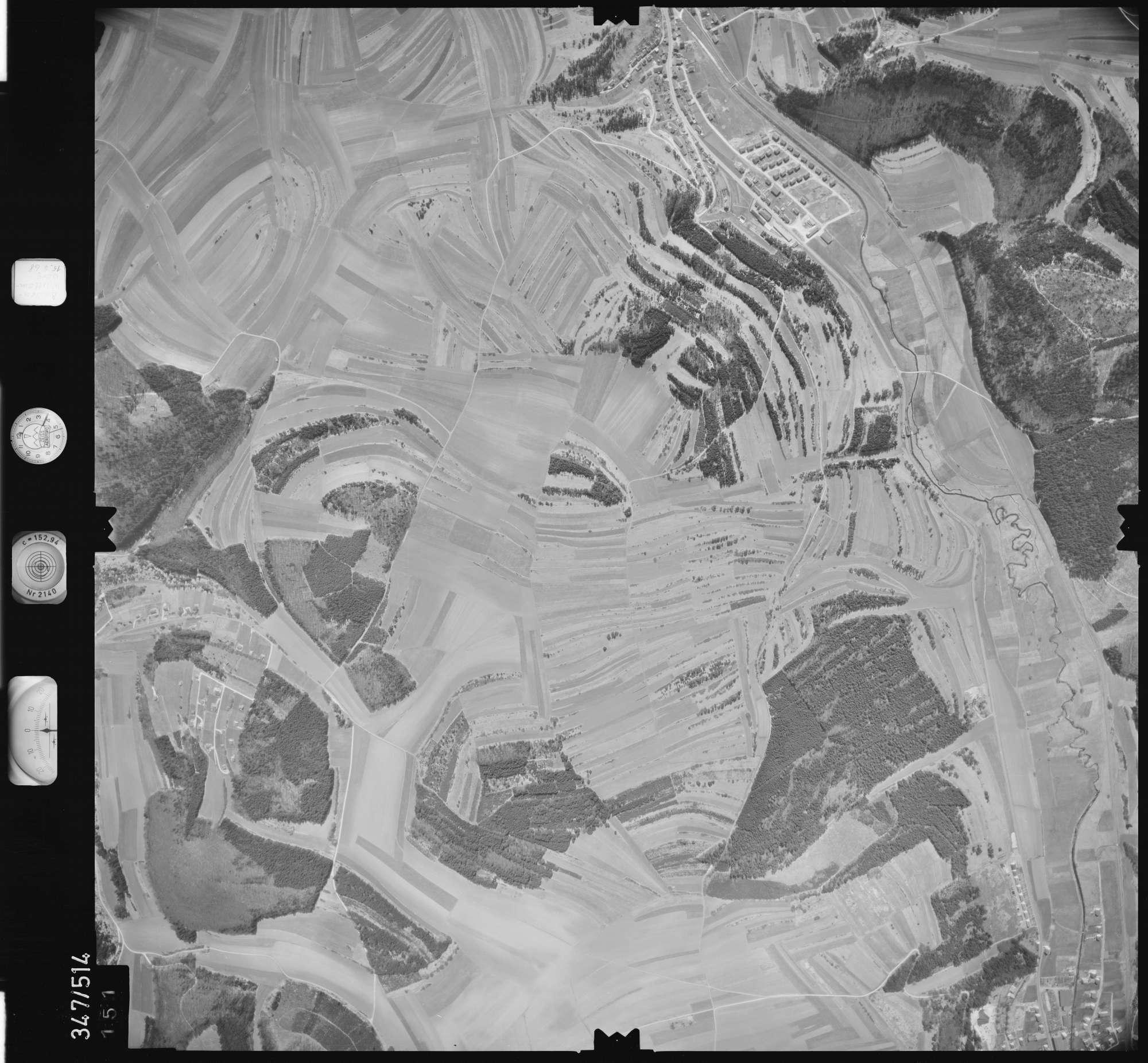 Luftbild: Film 45 Bildnr. 151, Bild 1
