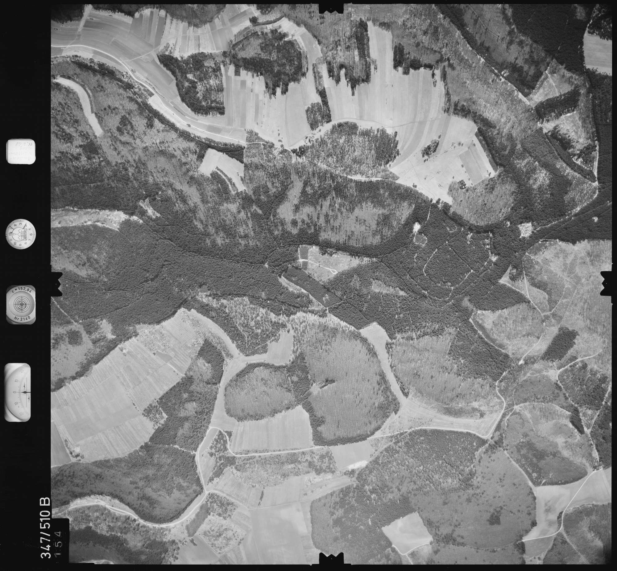 Luftbild: Film 45 Bildnr. 154, Bild 1