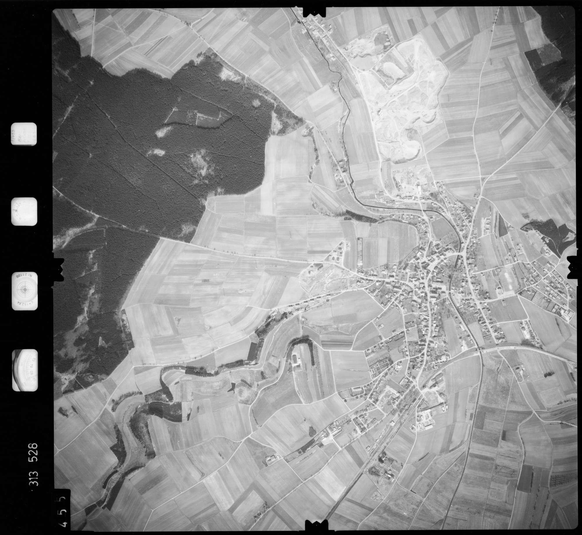 Luftbild: Film 58 Bildnr. 455, Bild 1