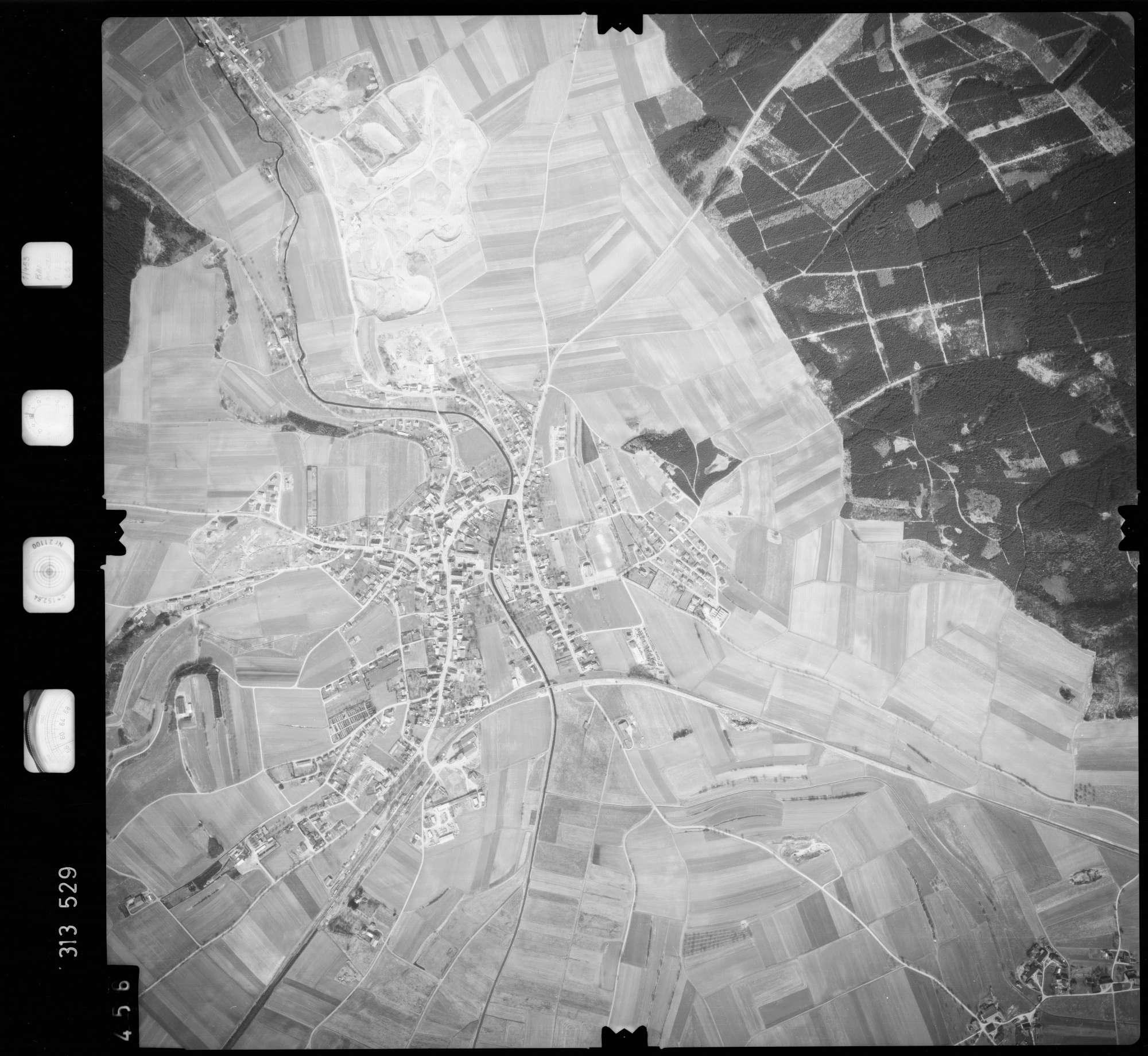 Luftbild: Film 58 Bildnr. 456, Bild 1