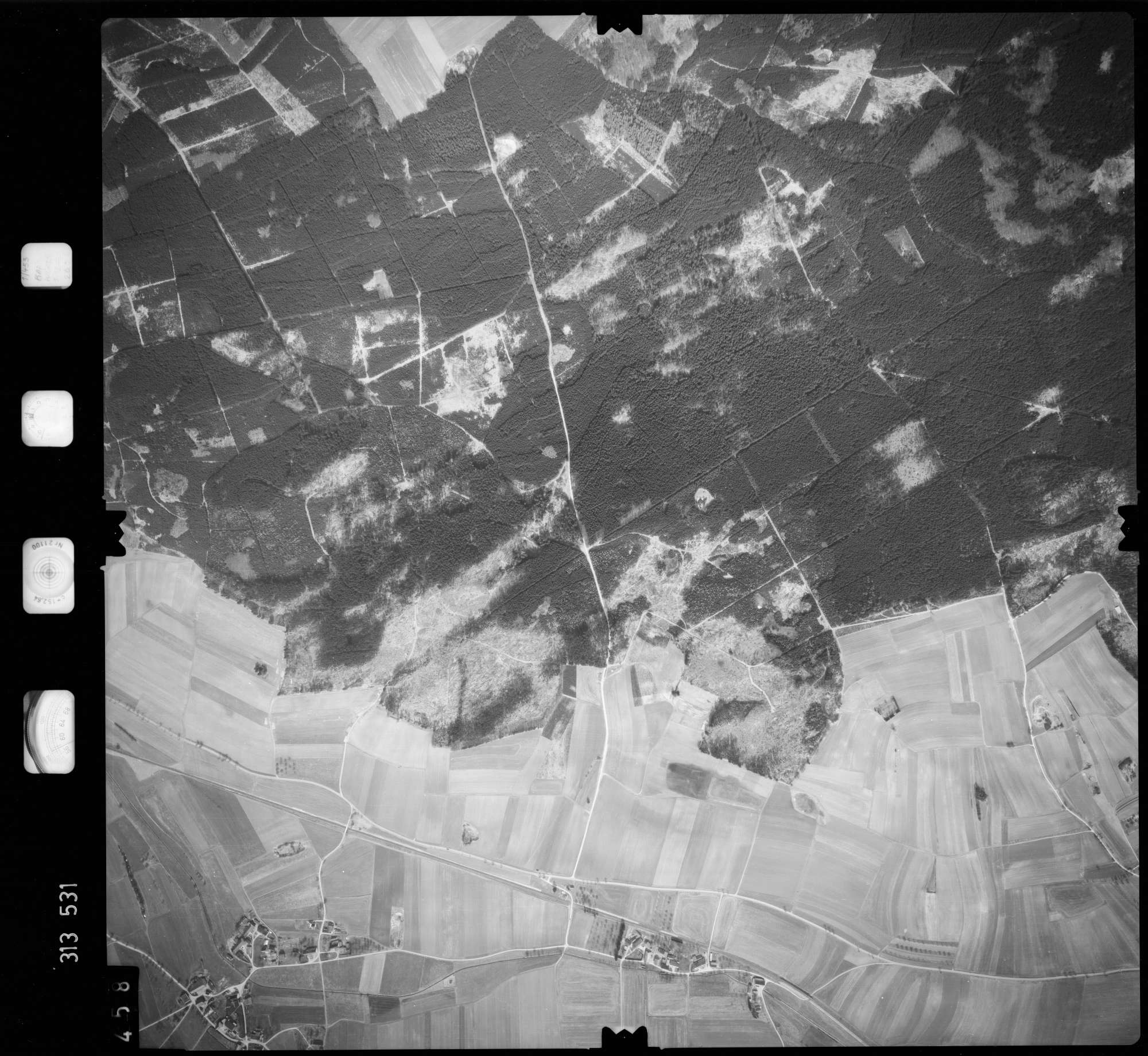 Luftbild: Film 58 Bildnr. 458, Bild 1