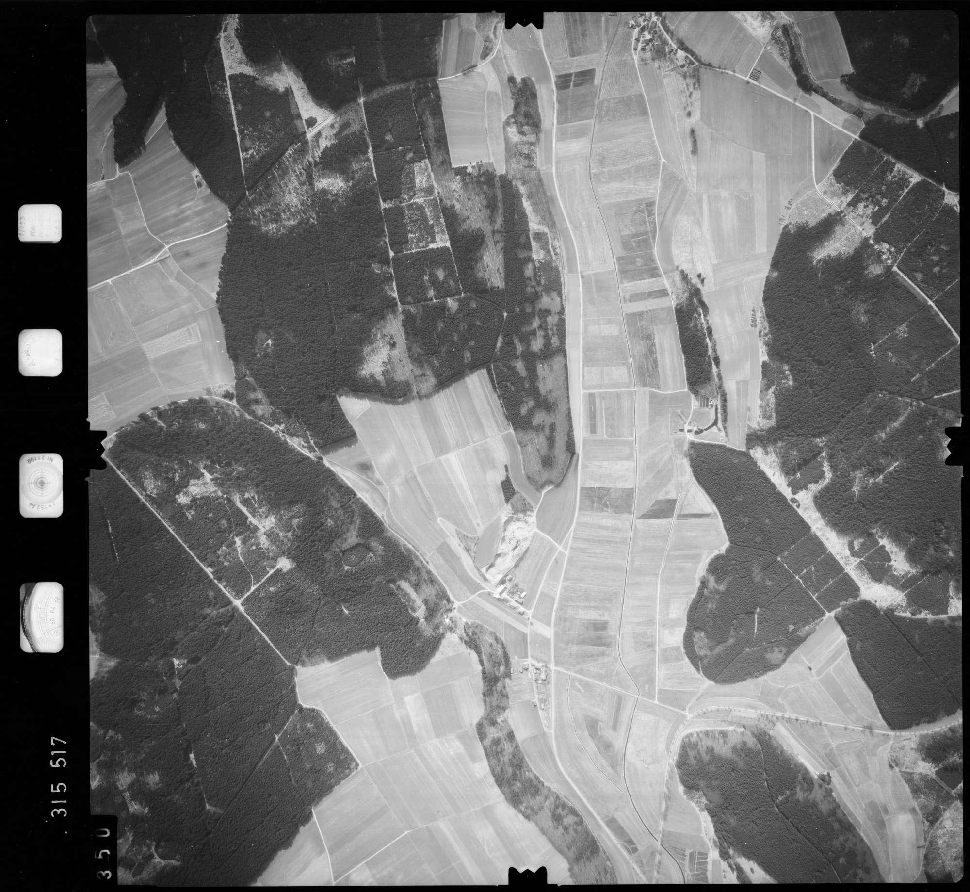 Luftbild: Film 58 Bildnr. 350, Bild 1
