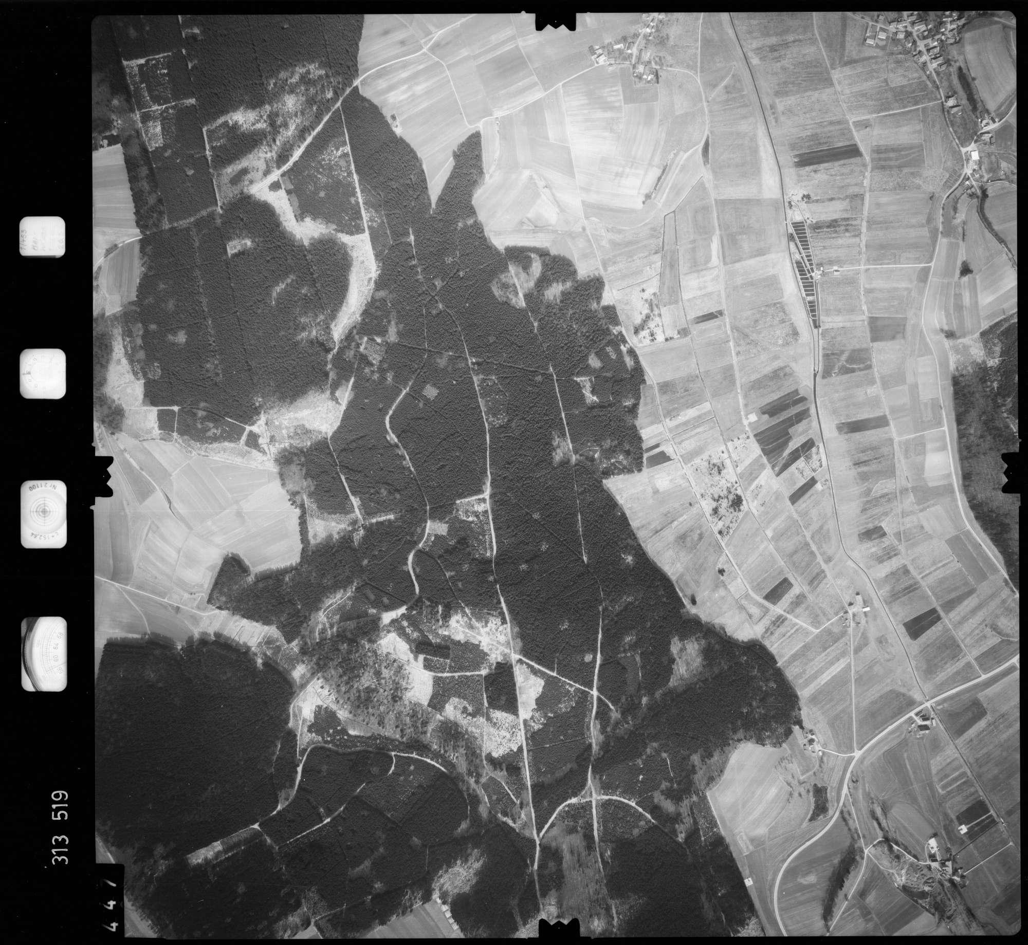 Luftbild: Film 58 Bildnr. 447, Bild 1