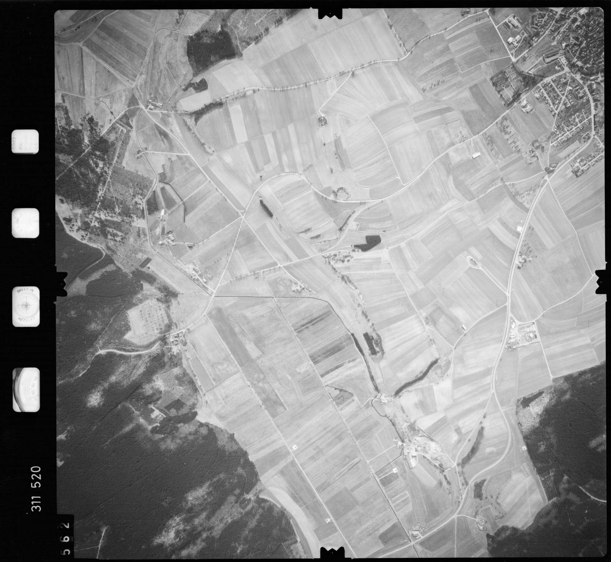 Luftbild: Film 58 Bildnr. 562, Bild 1