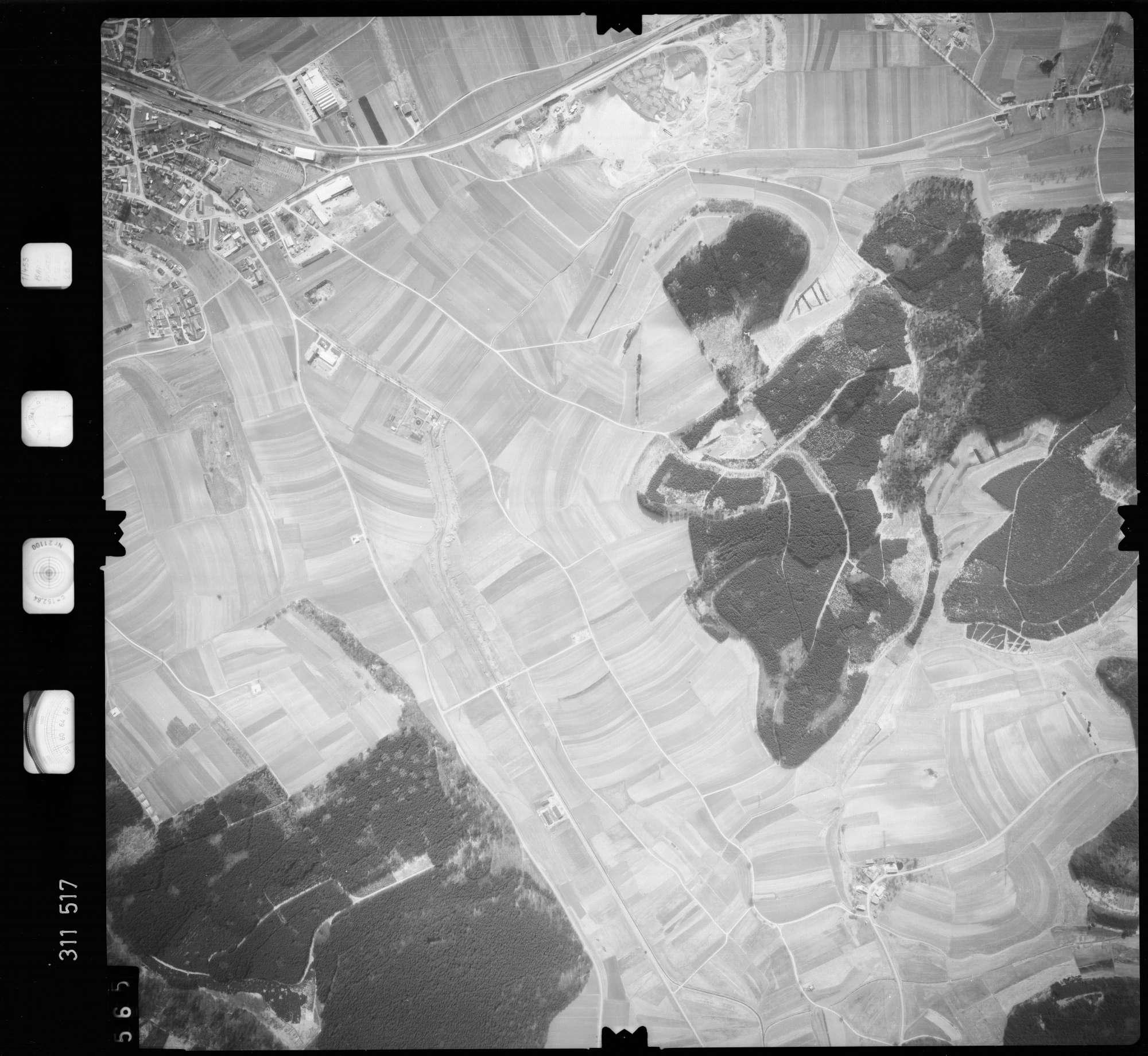Luftbild: Film 58 Bildnr. 565, Bild 1