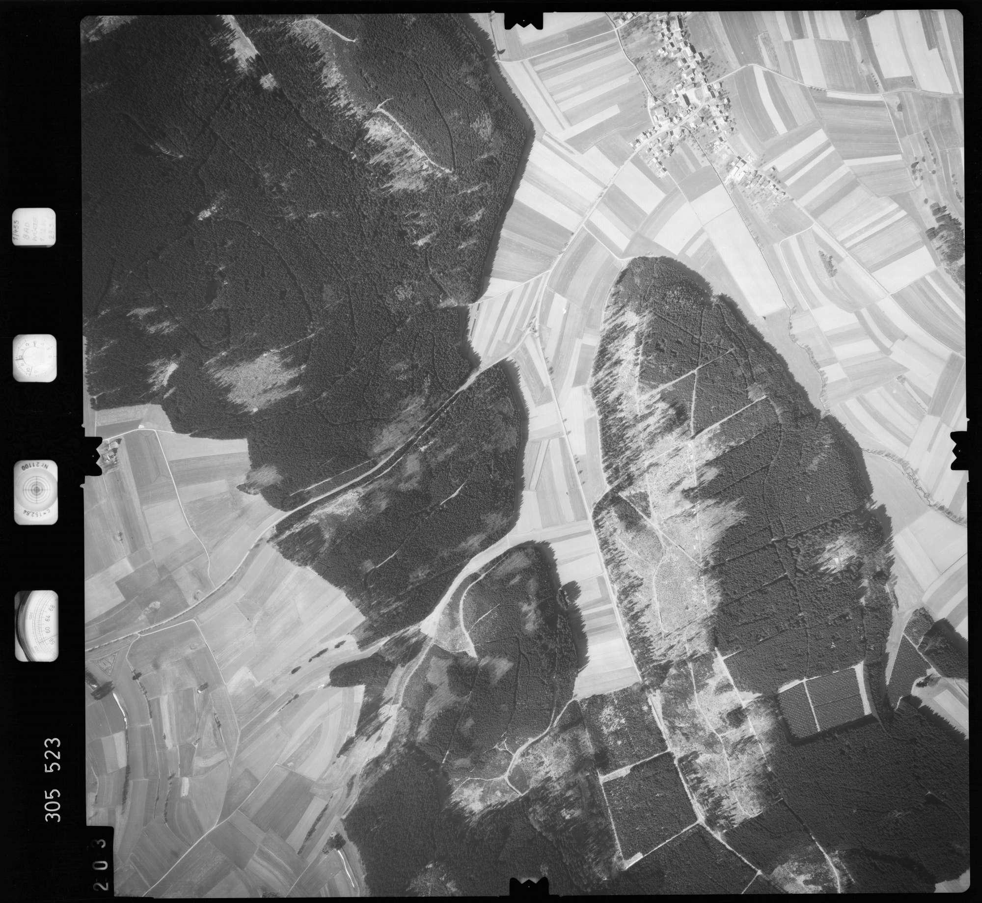 Luftbild: Film 61 Bildnr. 203, Bild 1