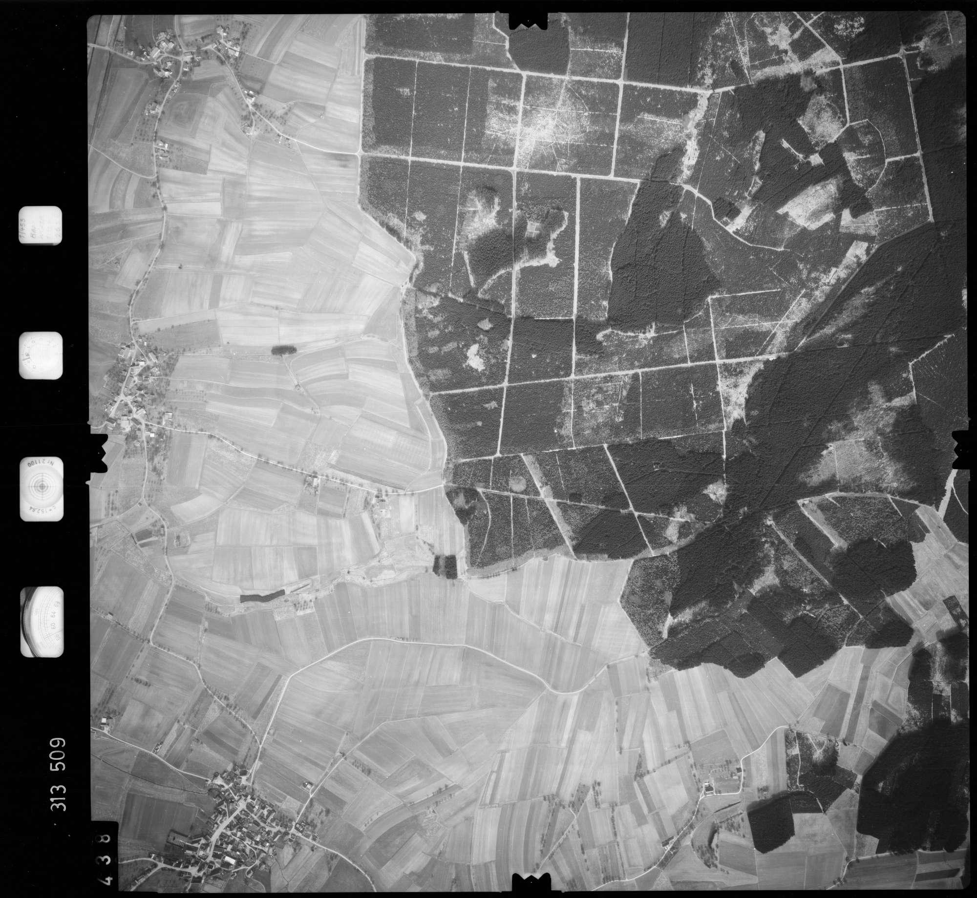 Luftbild: Film 58 Bildnr. 438, Bild 1