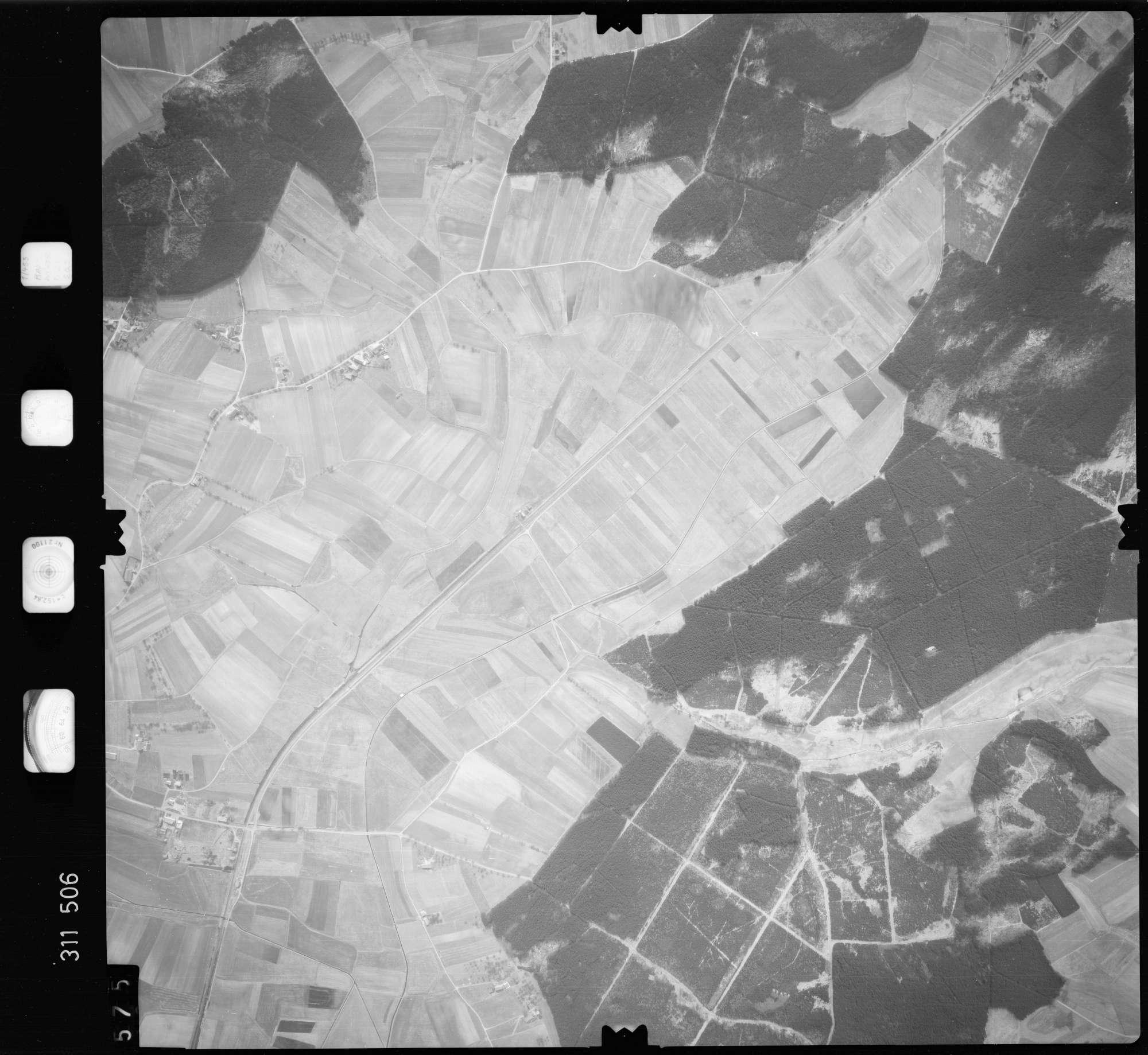 Luftbild: Film 58 Bildnr. 575, Bild 1