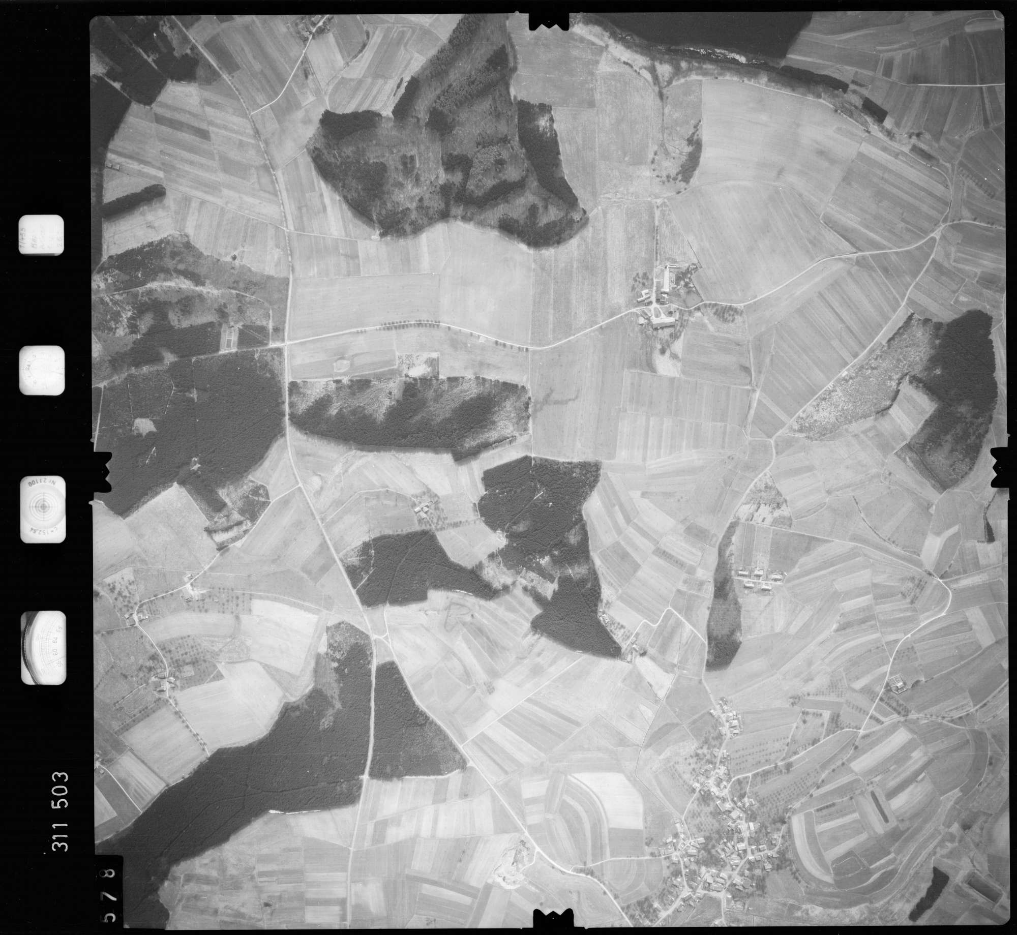 Luftbild: Film 58 Bildnr. 578, Bild 1