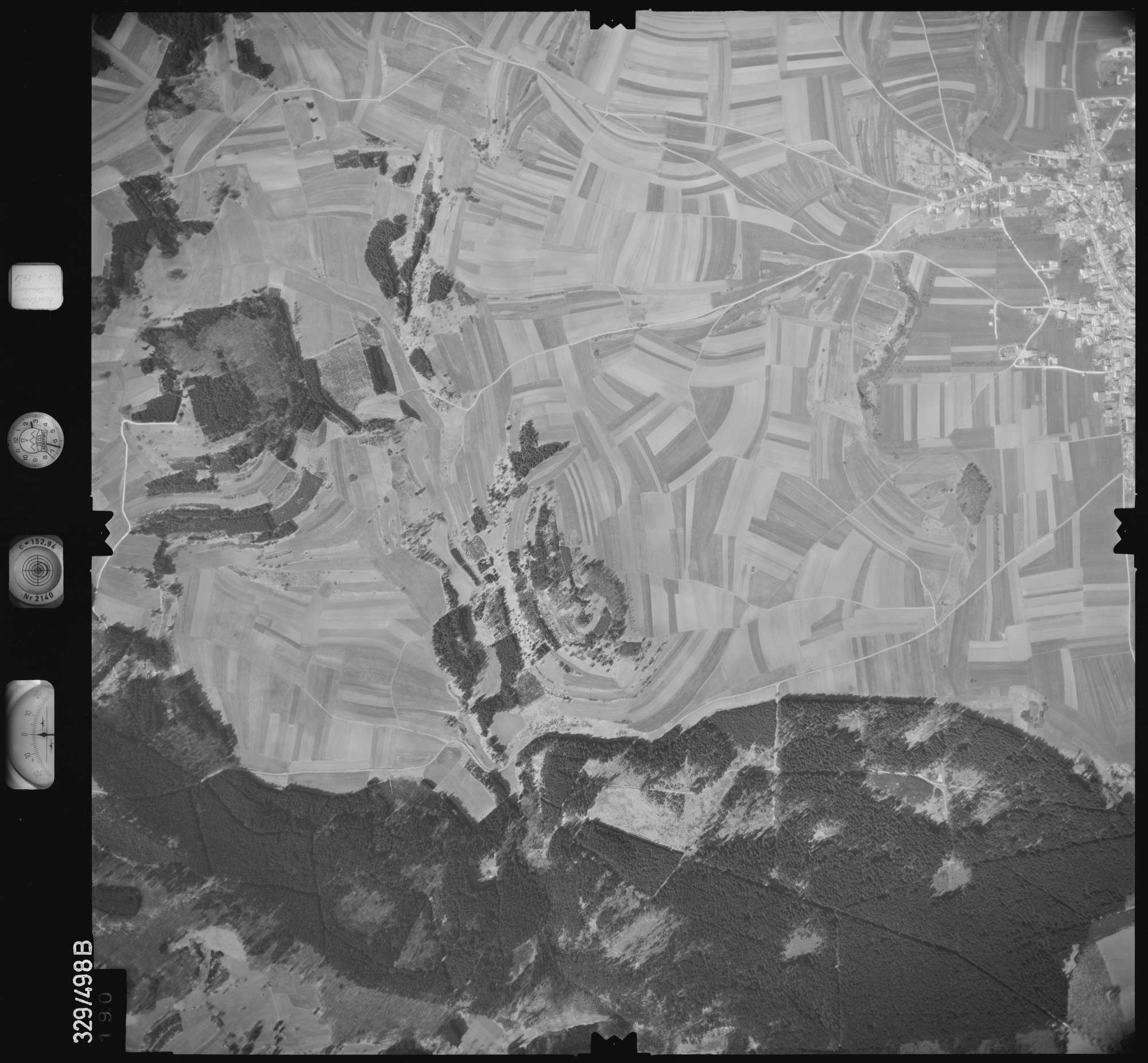 Luftbild: Film 15 Bildnr. 190, Bild 1