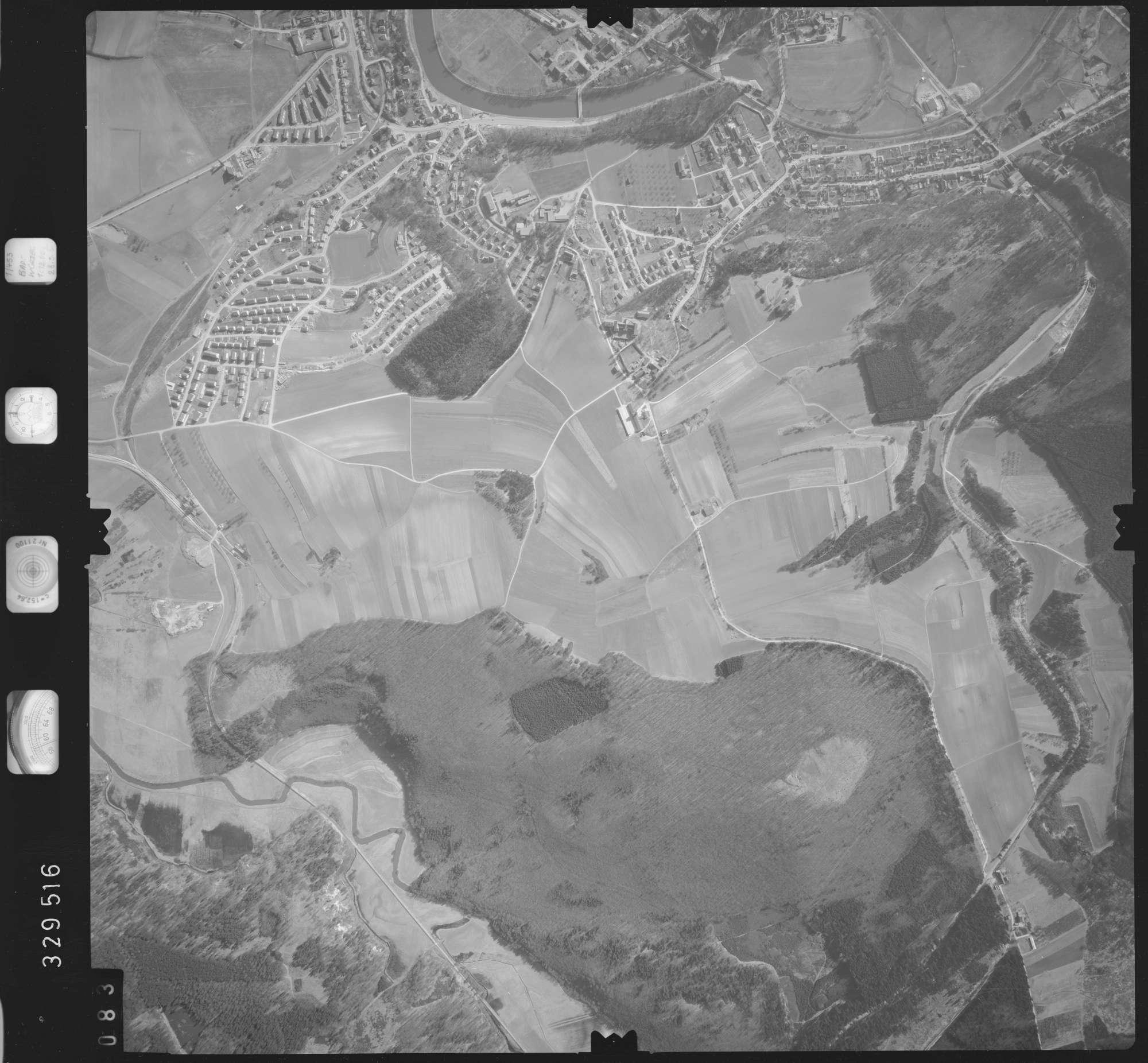 Luftbild: Film 51 Bildnr. 83, Bild 1