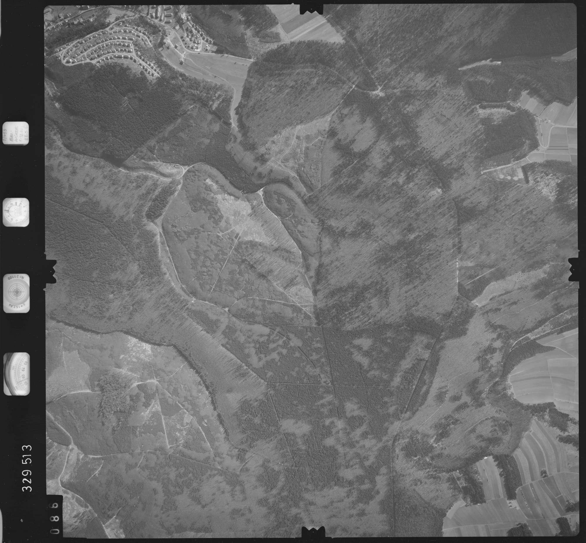 Luftbild: Film 51 Bildnr. 86, Bild 1