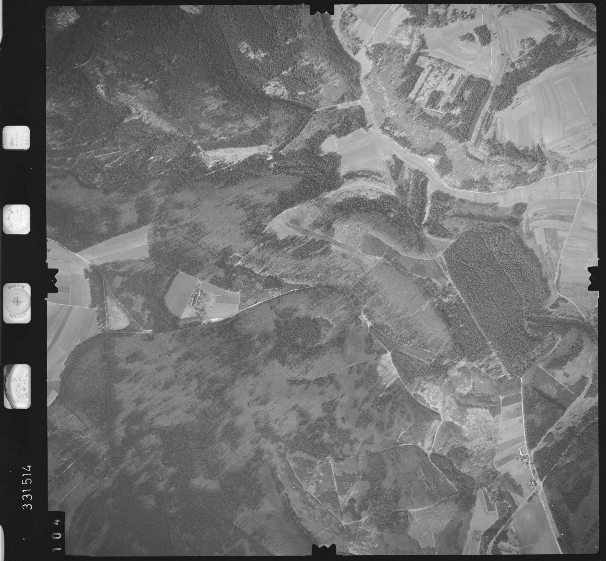 Luftbild: Film 51 Bildnr. 104, Bild 1