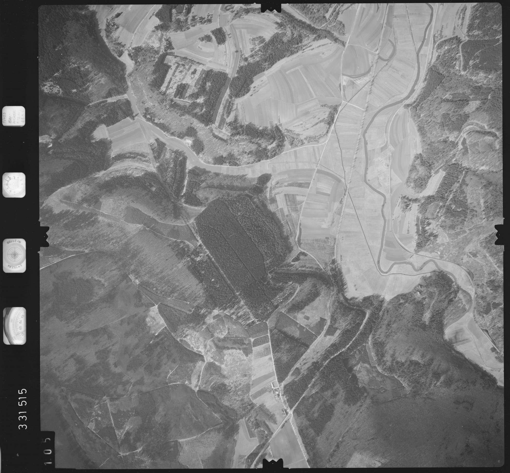 Luftbild: Film 51 Bildnr. 105, Bild 1