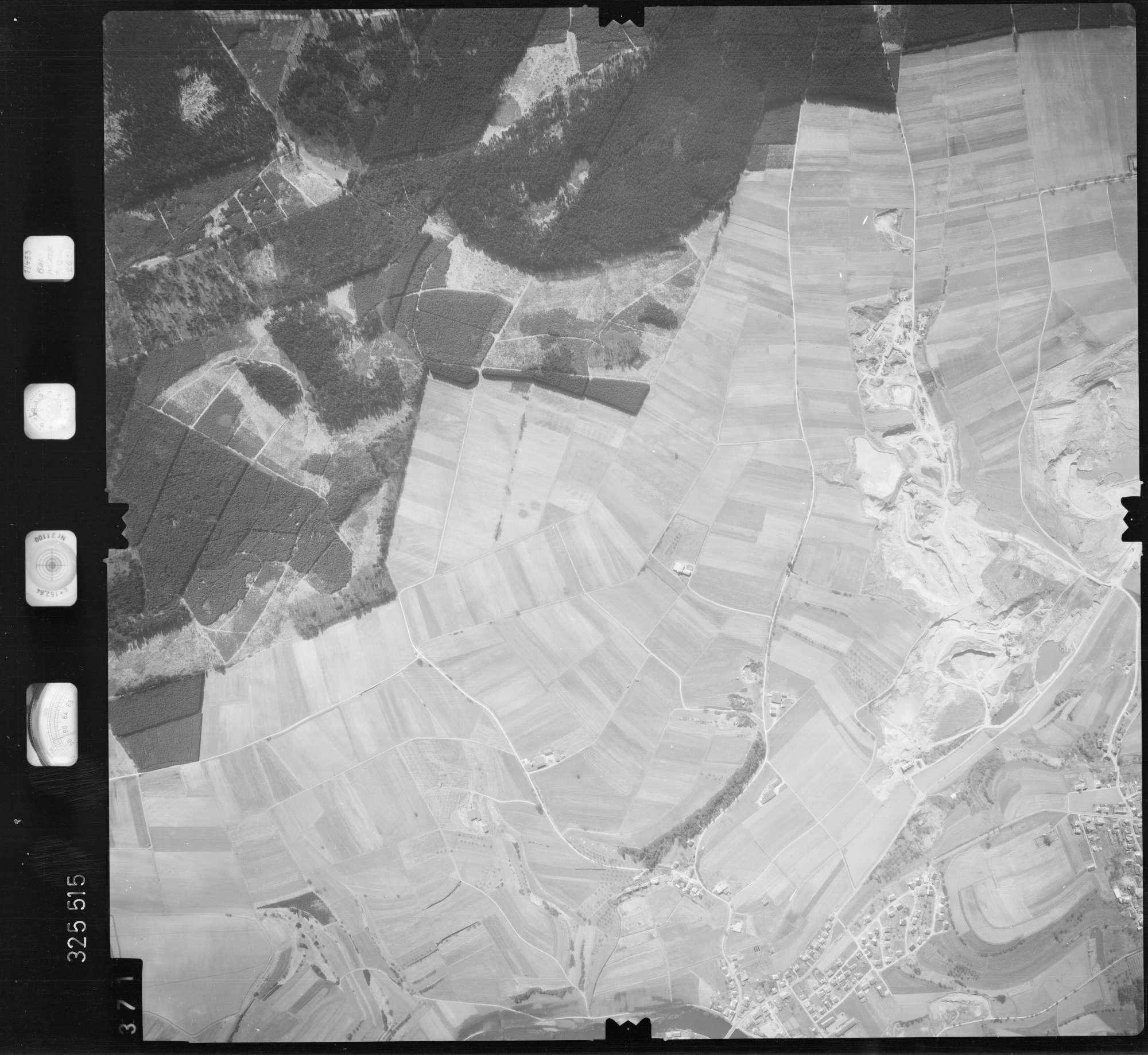 Luftbild: Film 52 Bildnr. 371, Bild 1