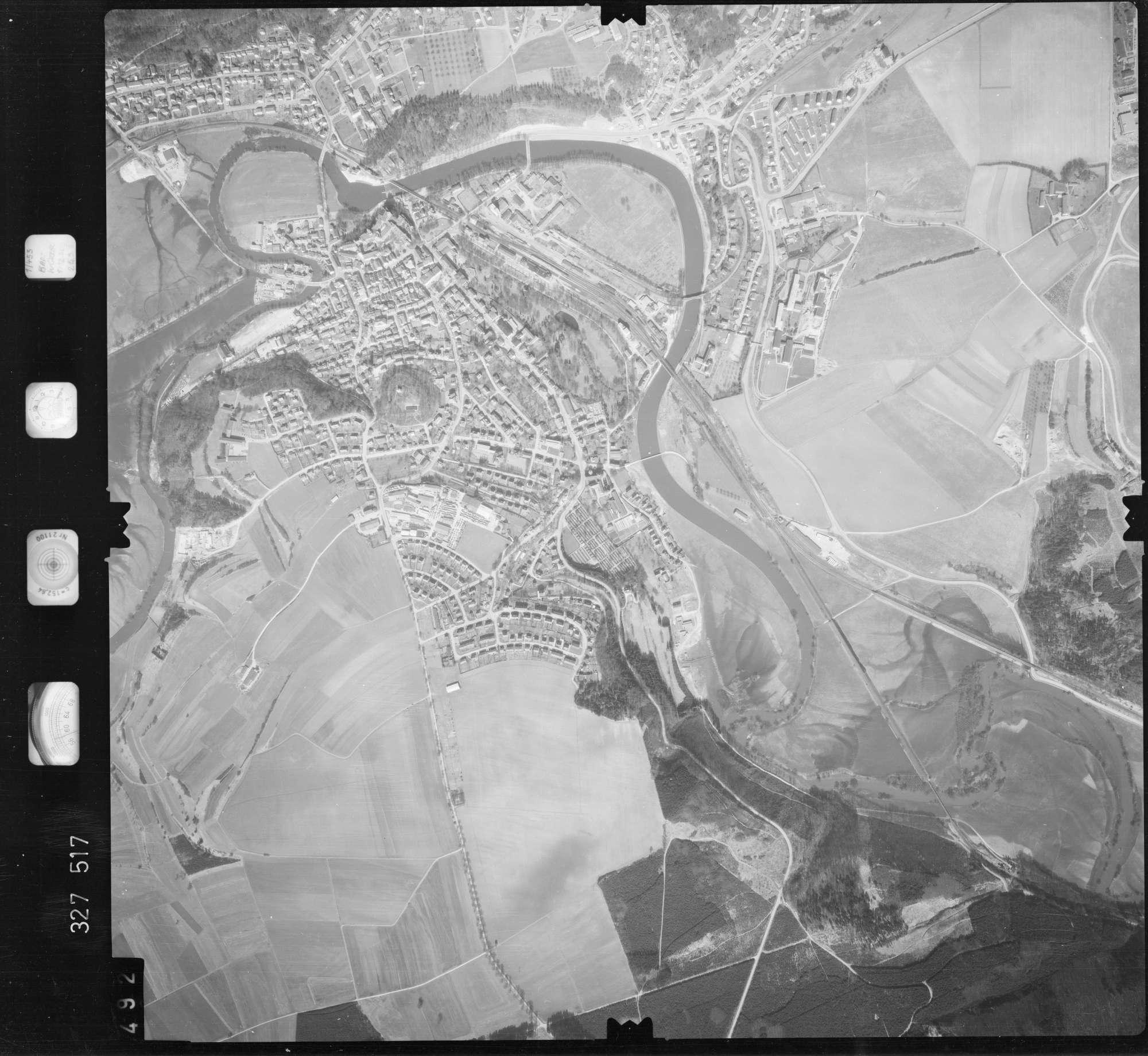 Luftbild: Film 52 Bildnr. 492, Bild 1