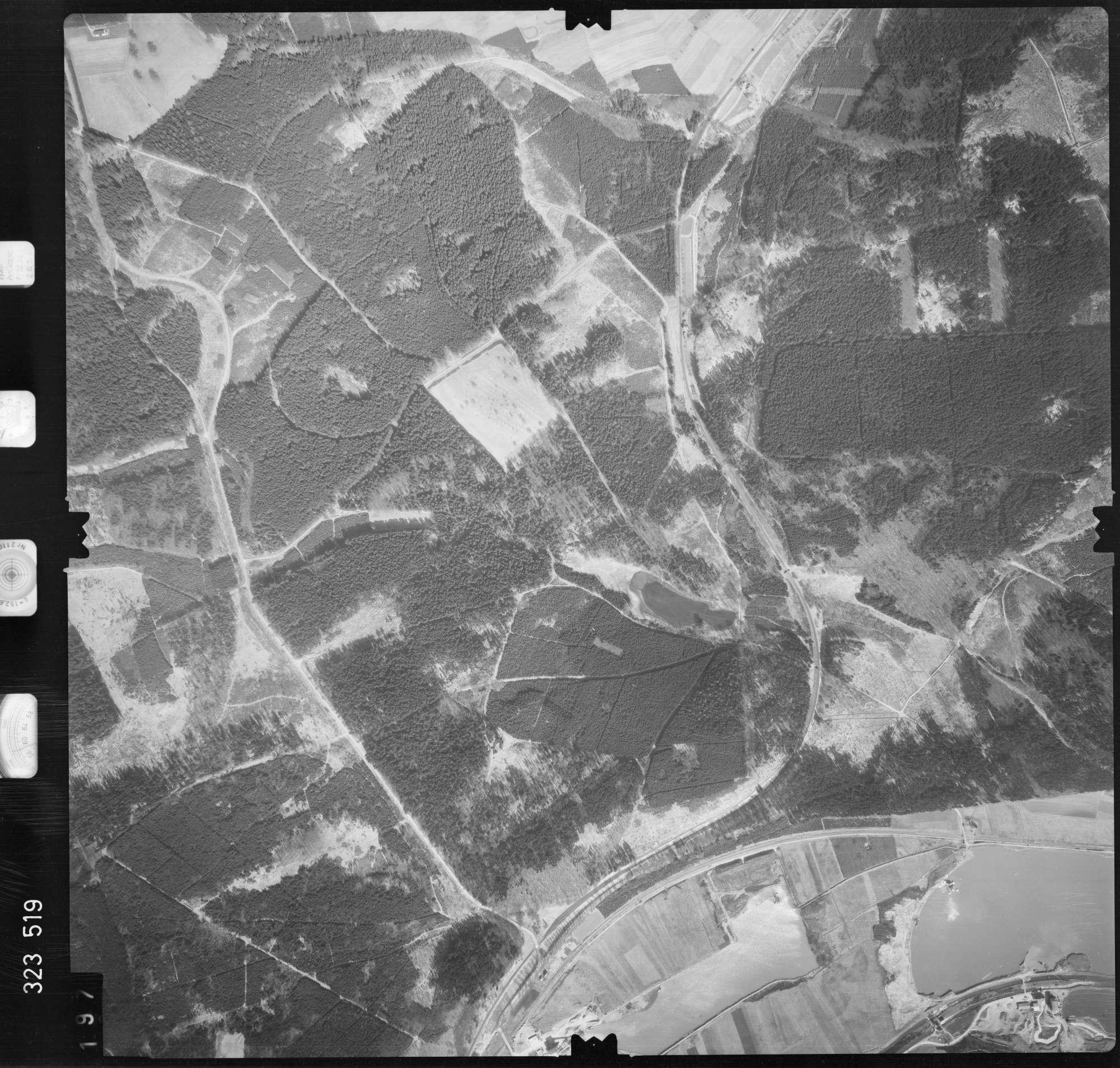 Luftbild: Film 53 Bildnr. 197, Bild 1