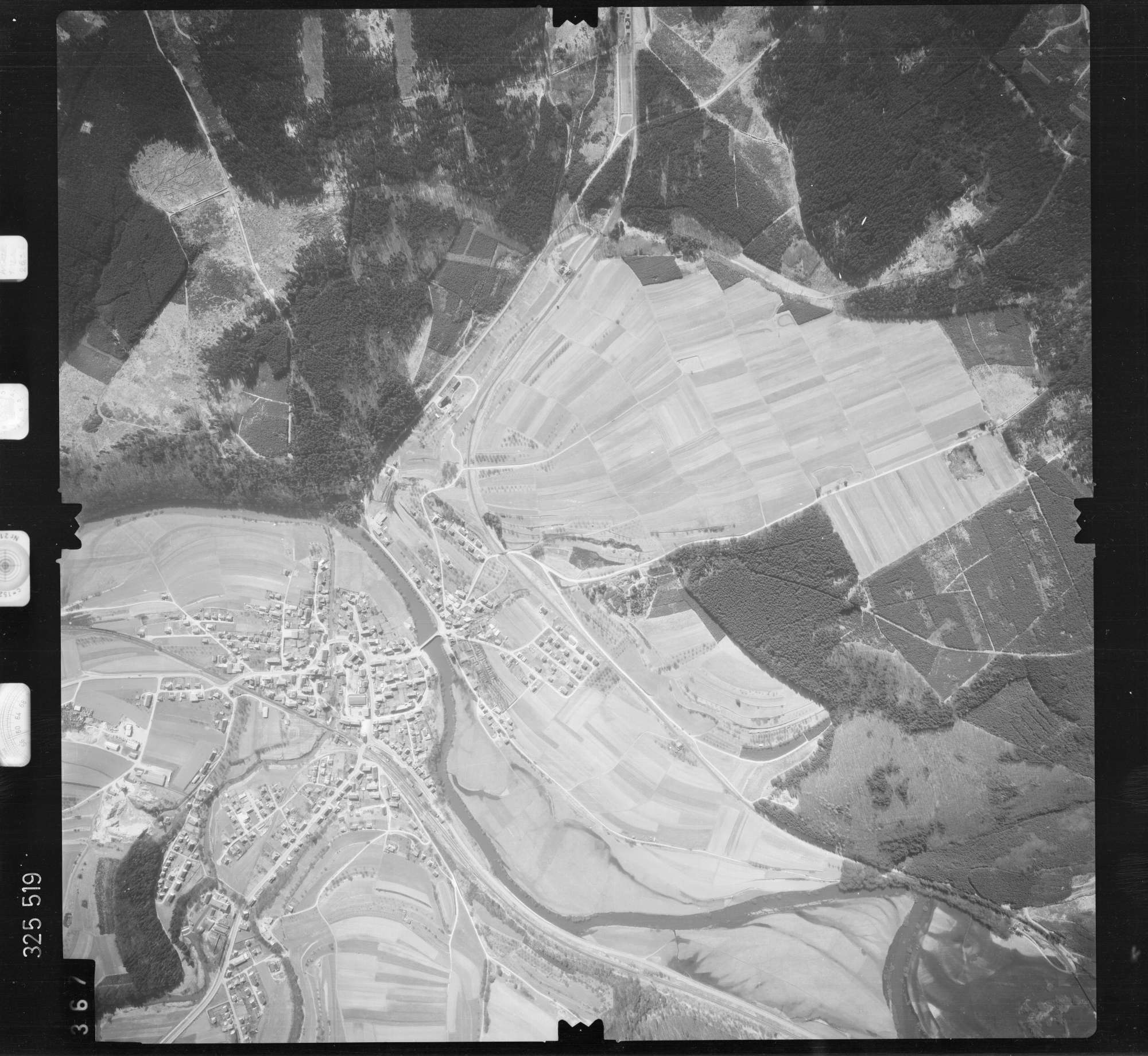 Luftbild: Film 52 Bildnr. 367, Bild 1
