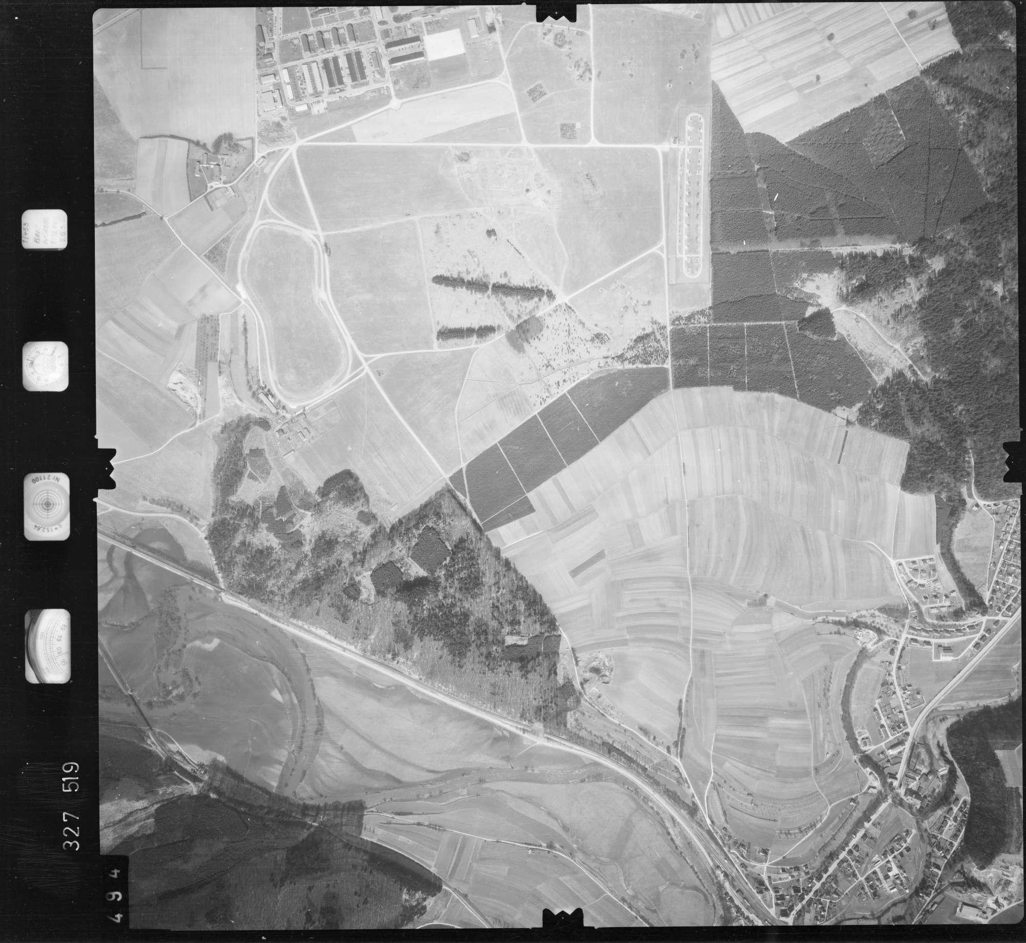 Luftbild: Film 52 Bildnr. 494, Bild 1