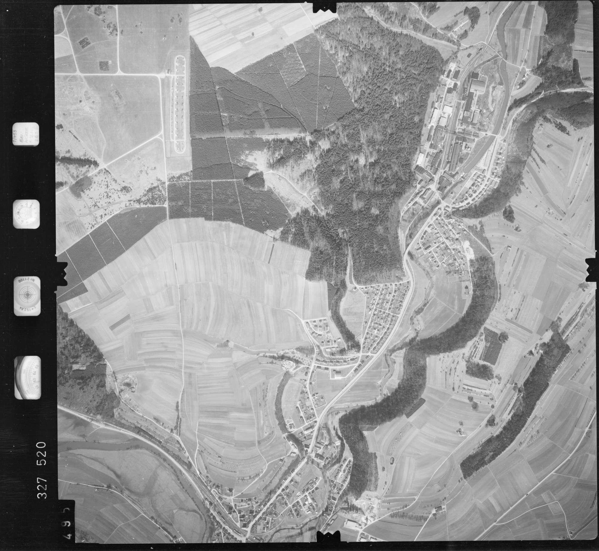 Luftbild: Film 52 Bildnr. 495, Bild 1
