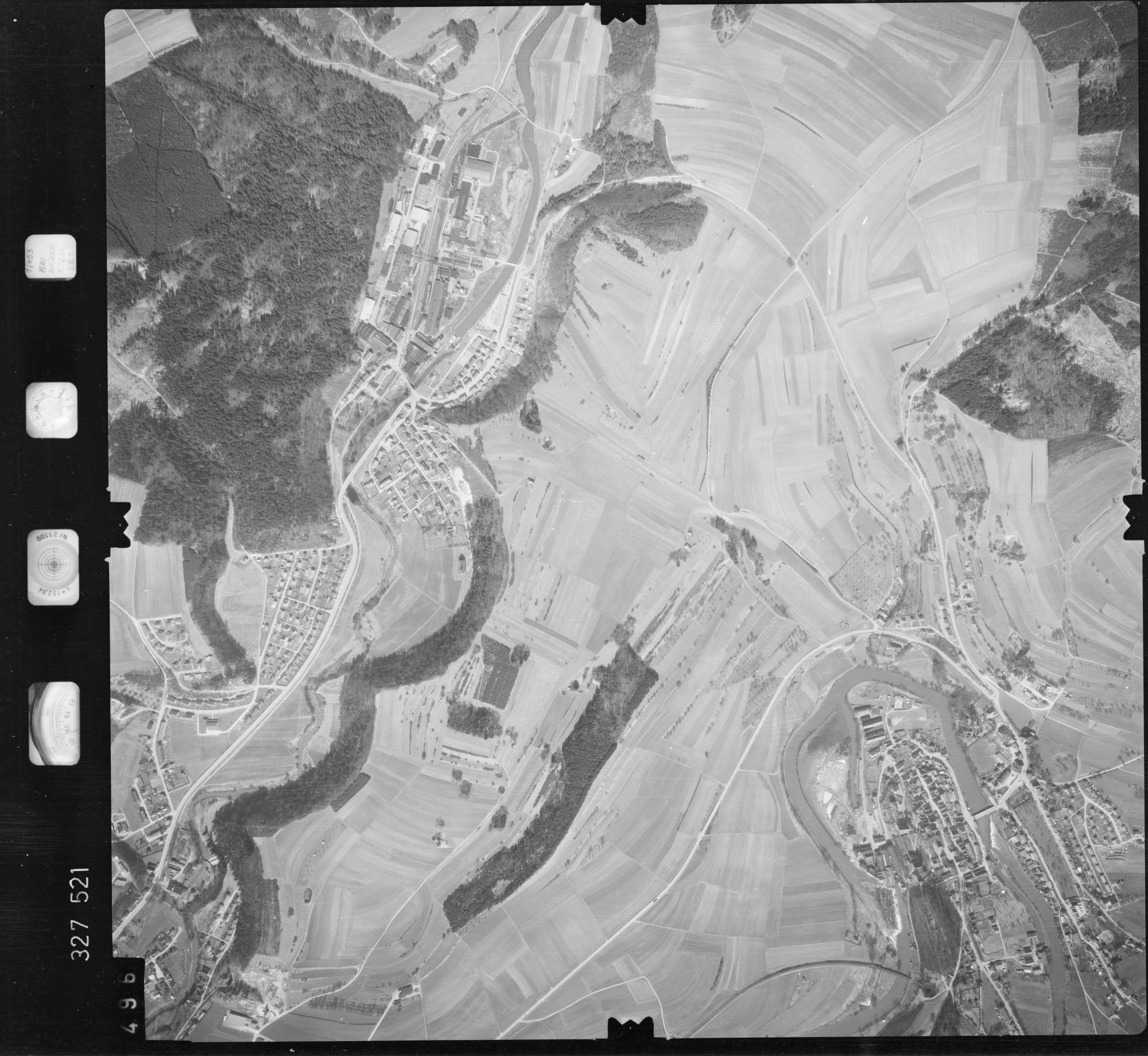 Luftbild: Film 52 Bildnr. 496, Bild 1