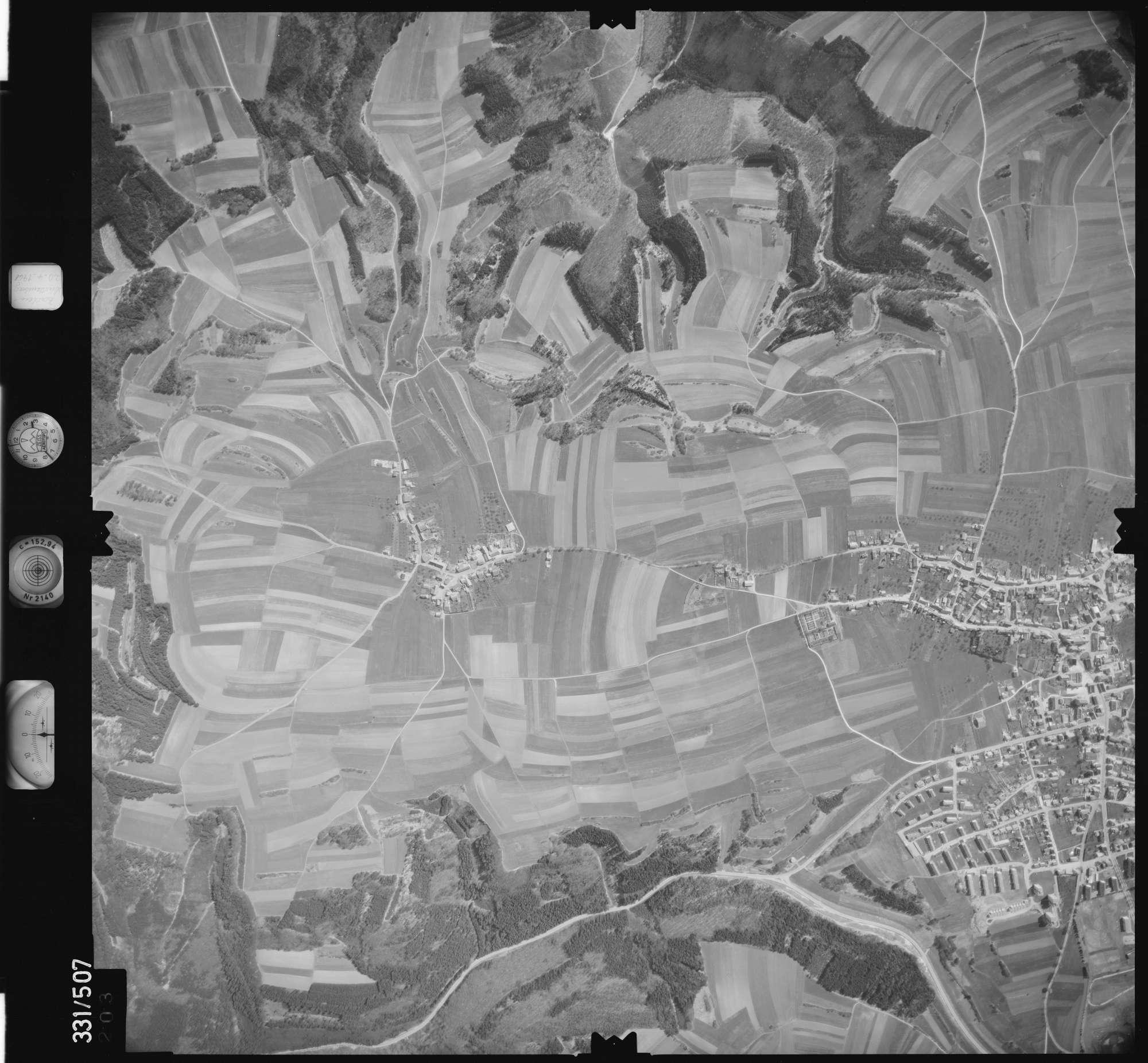 Luftbild: Film 15 Bildnr. 203, Bild 1