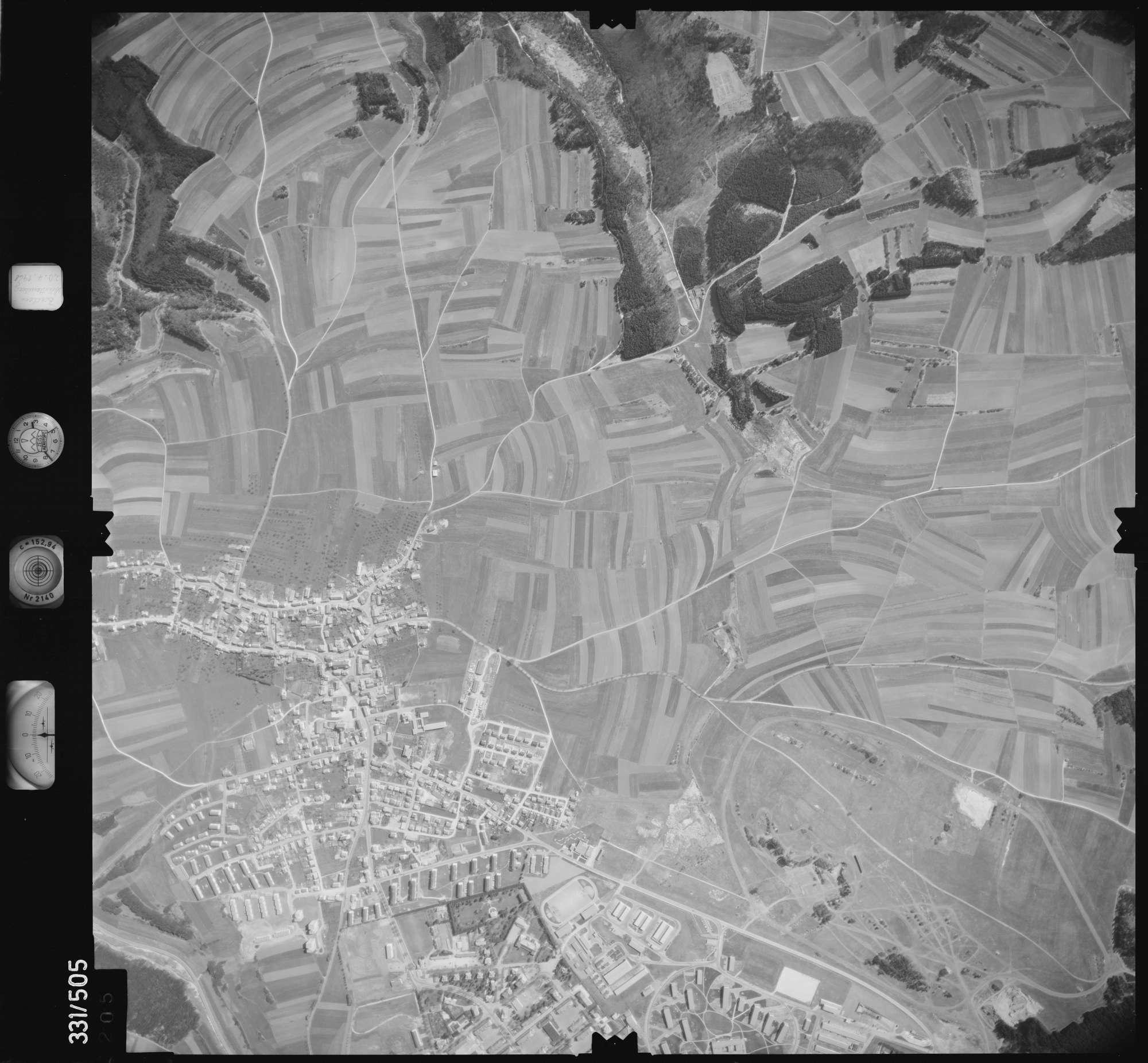 Luftbild: Film 15 Bildnr. 205, Bild 1