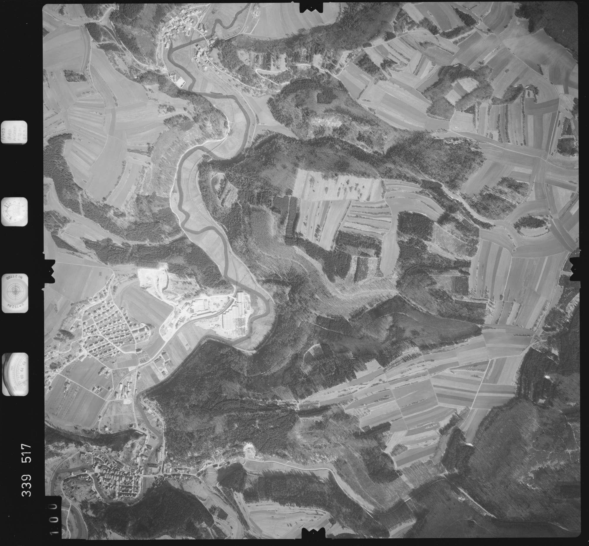 Luftbild: Film 50 Bildnr. 100, Bild 1