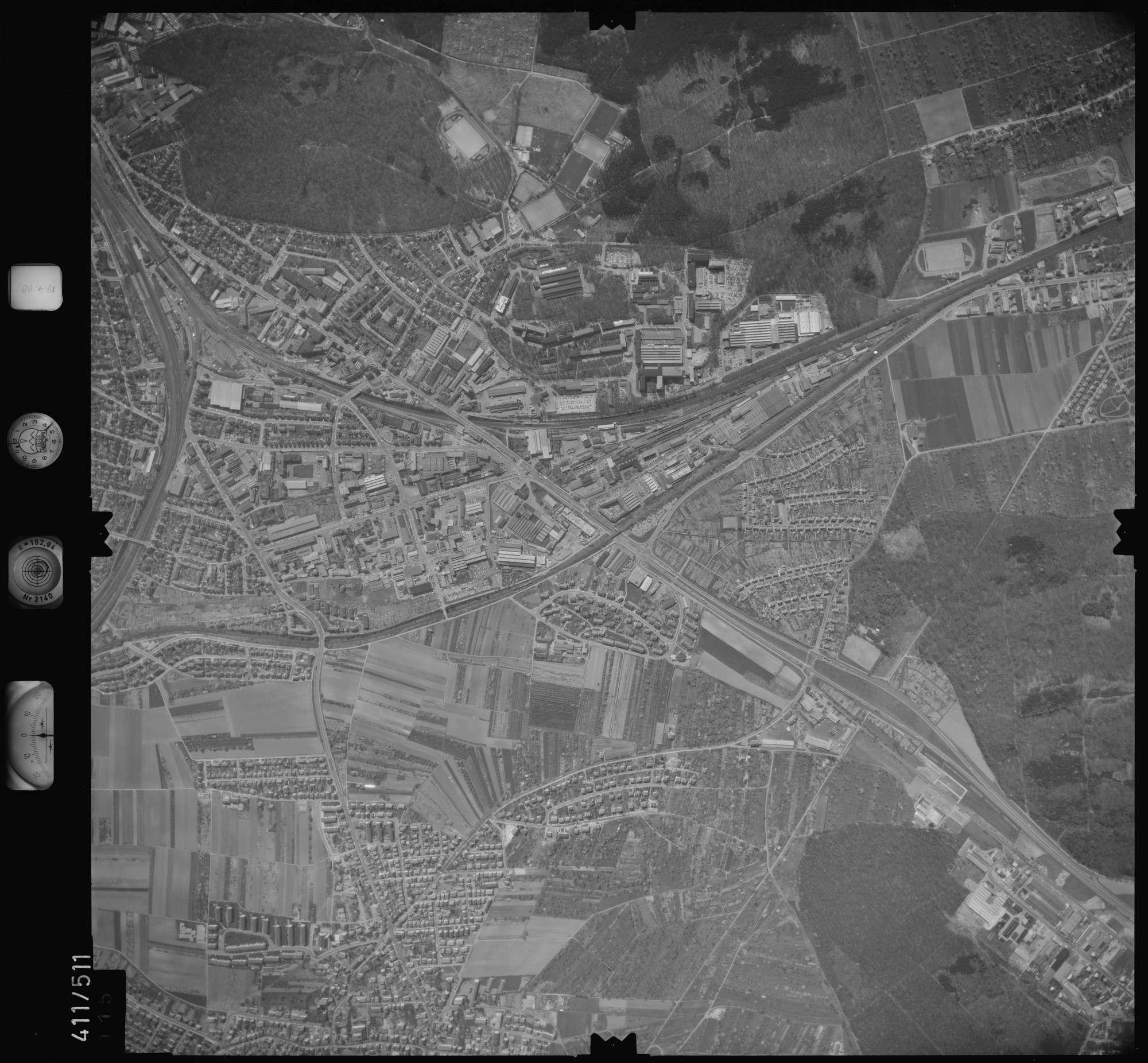 Luftbild: Film 4 Bildnr. 115, Bild 1