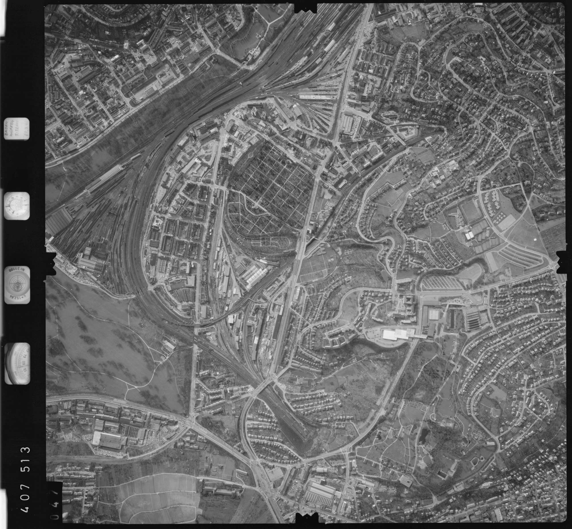 Luftbild: Film 5 Bildnr. 47, Bild 1
