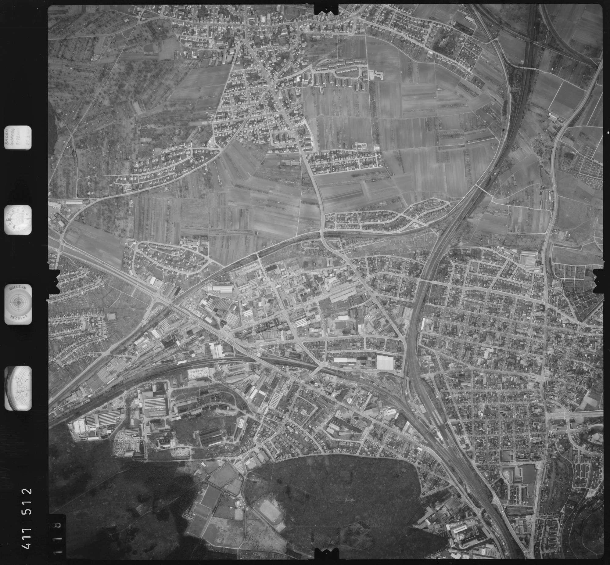Luftbild: Film 5 Bildnr. 118, Bild 1