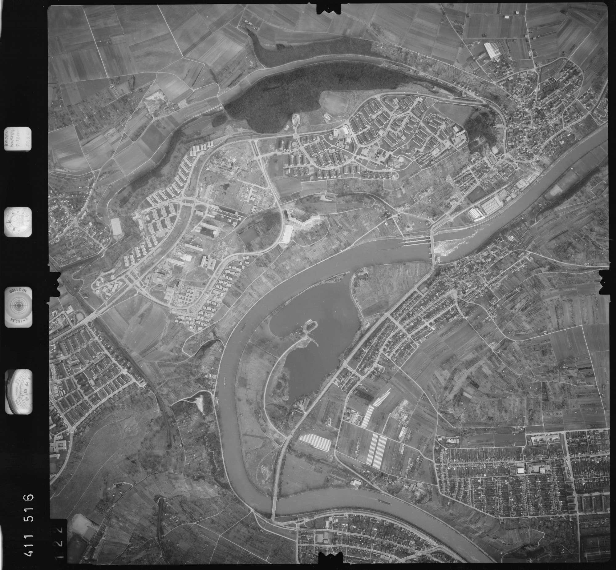 Luftbild: Film 5 Bildnr. 122, Bild 1