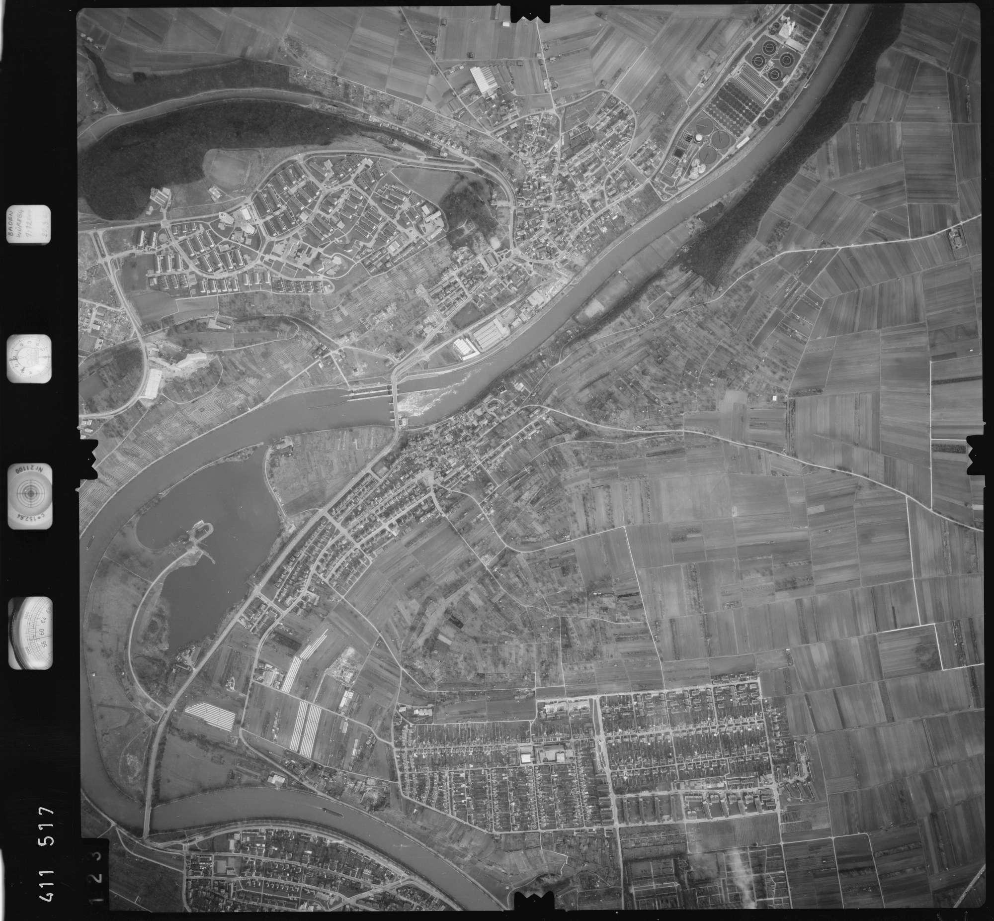 Luftbild: Film 5 Bildnr. 123, Bild 1