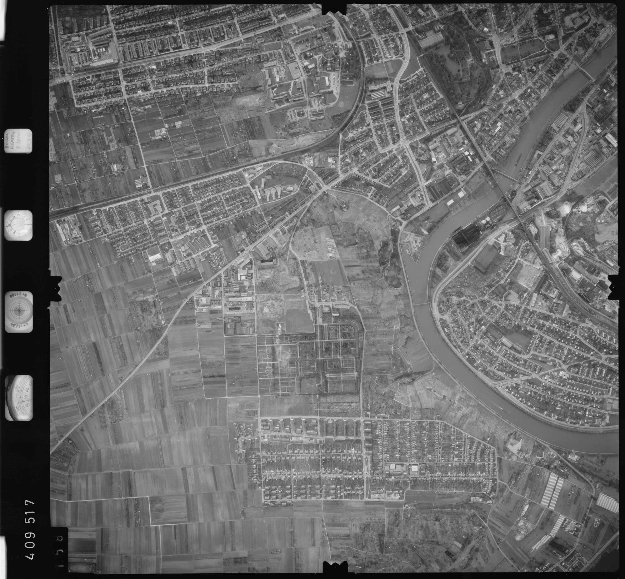 Luftbild: Film 5 Bildnr. 158, Bild 1