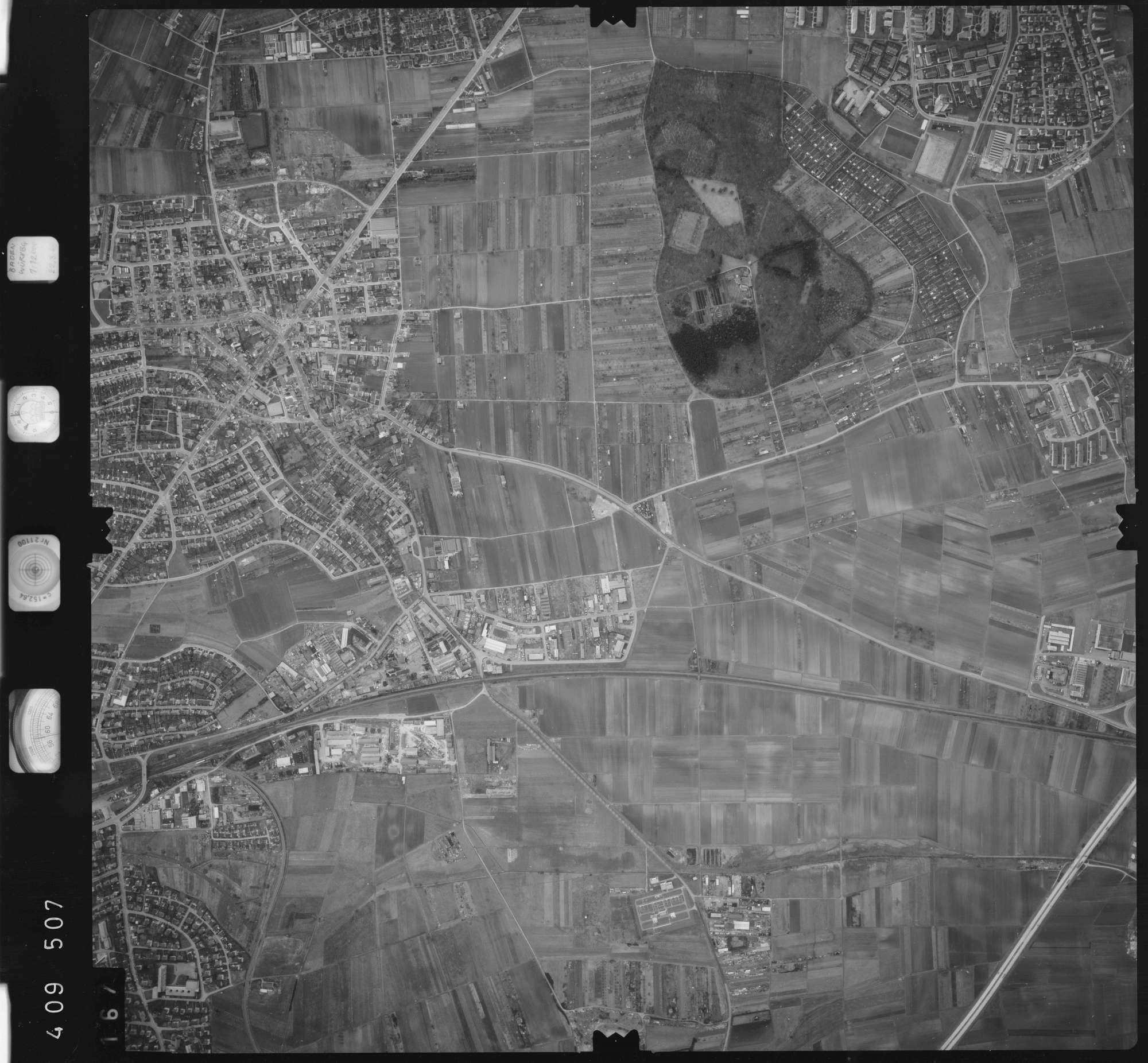 Luftbild: Film 5 Bildnr. 167, Bild 1