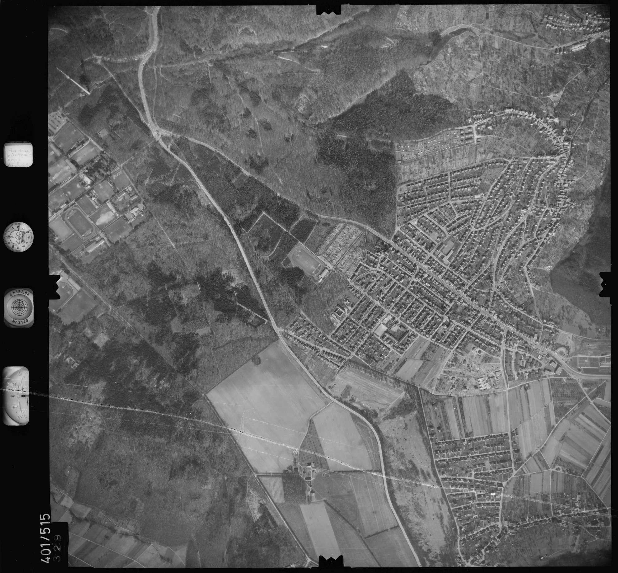 Luftbild: Film 10 Bildnr. 329, Bild 1