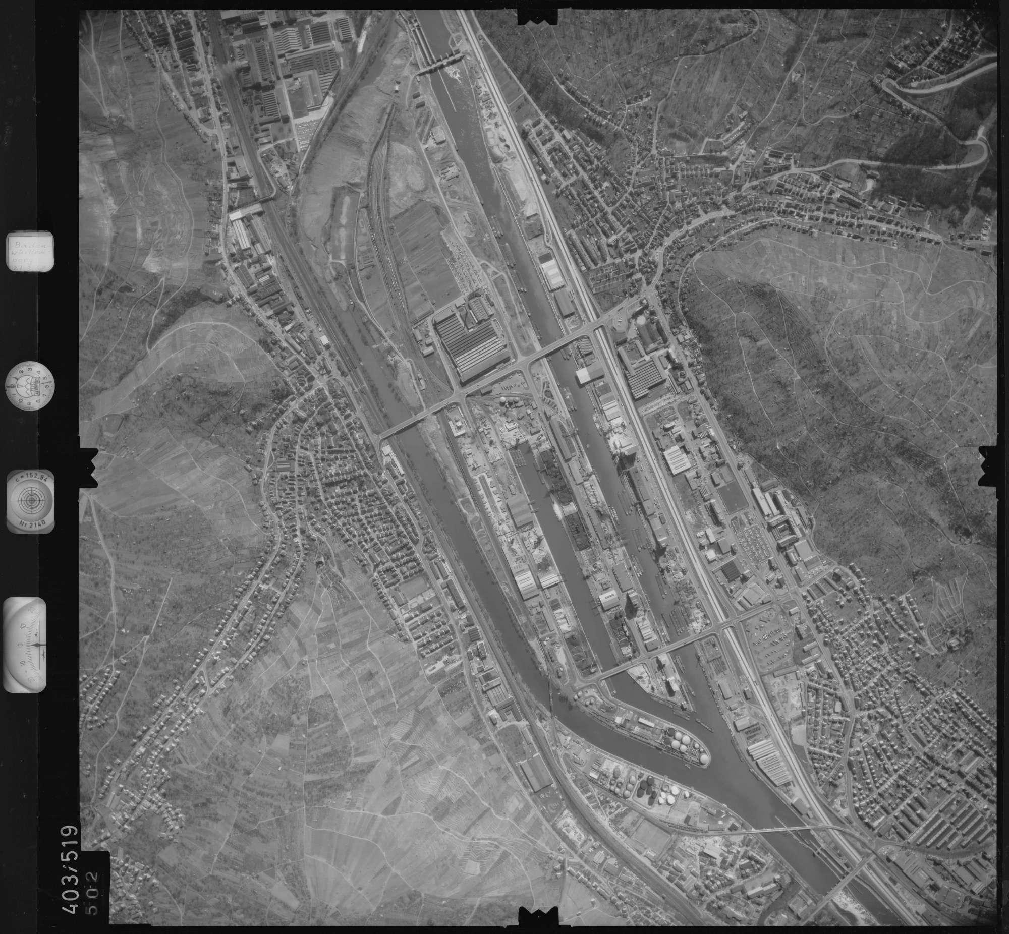 Luftbild: Film 10 Bildnr. 502, Bild 1