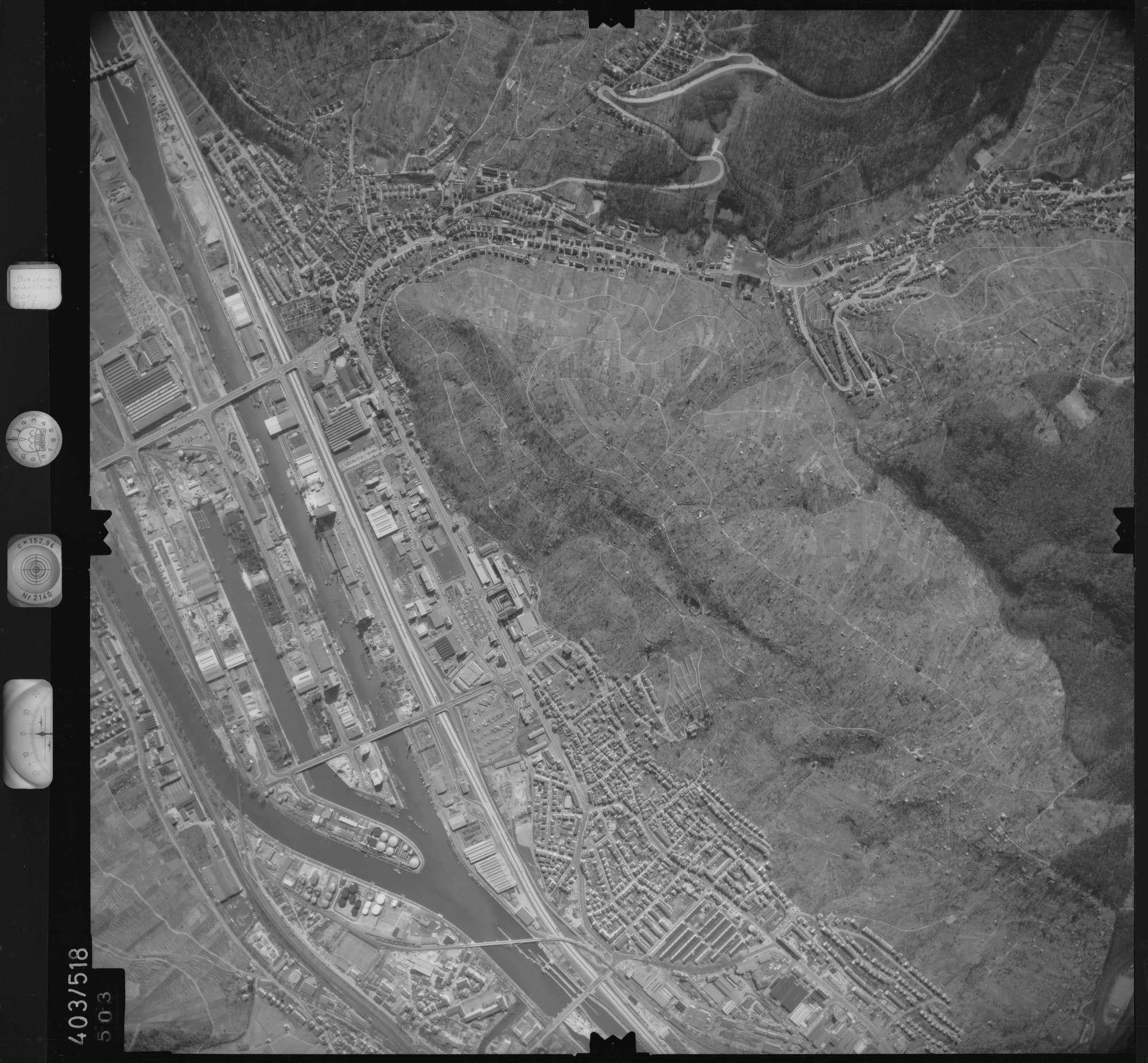 Luftbild: Film 10 Bildnr. 503, Bild 1