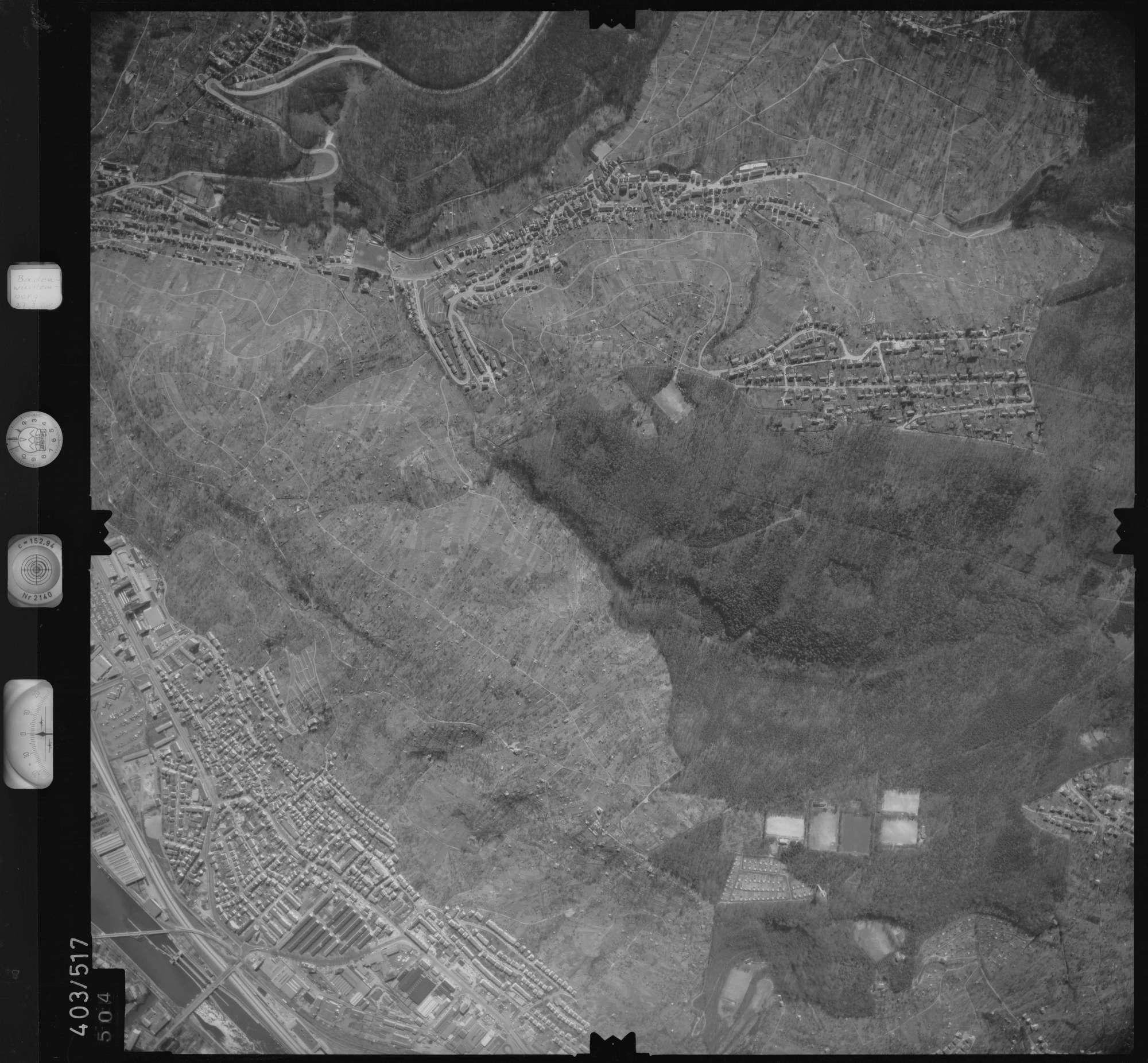 Luftbild: Film 10 Bildnr. 504, Bild 1