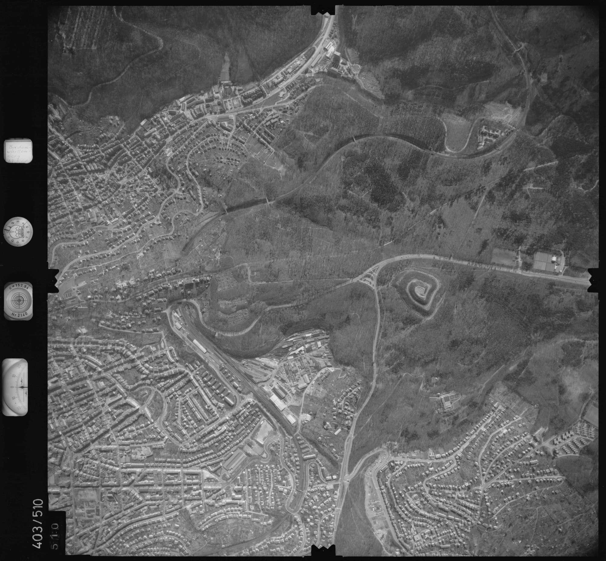 Luftbild: Film 10 Bildnr. 510, Bild 1