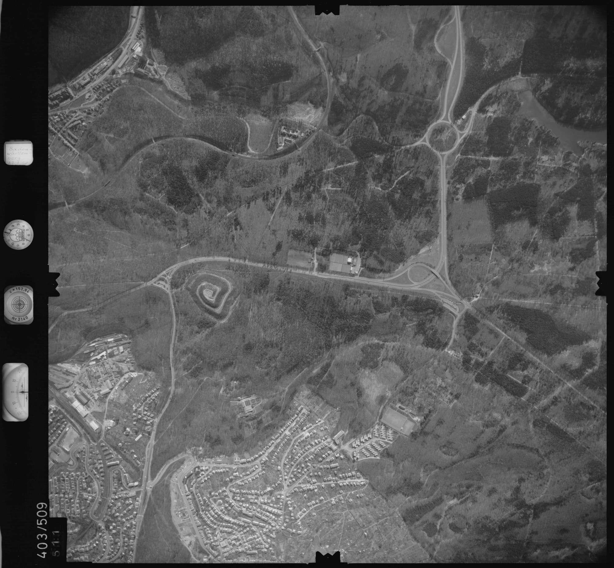 Luftbild: Film 10 Bildnr. 511, Bild 1