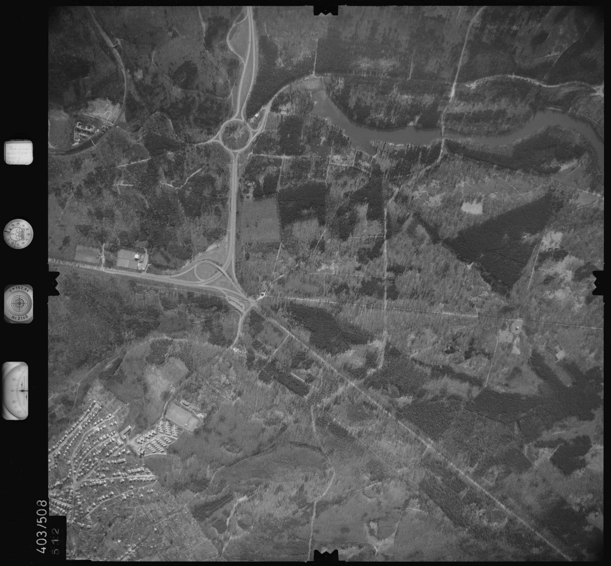 Luftbild: Film 10 Bildnr. 512, Bild 1