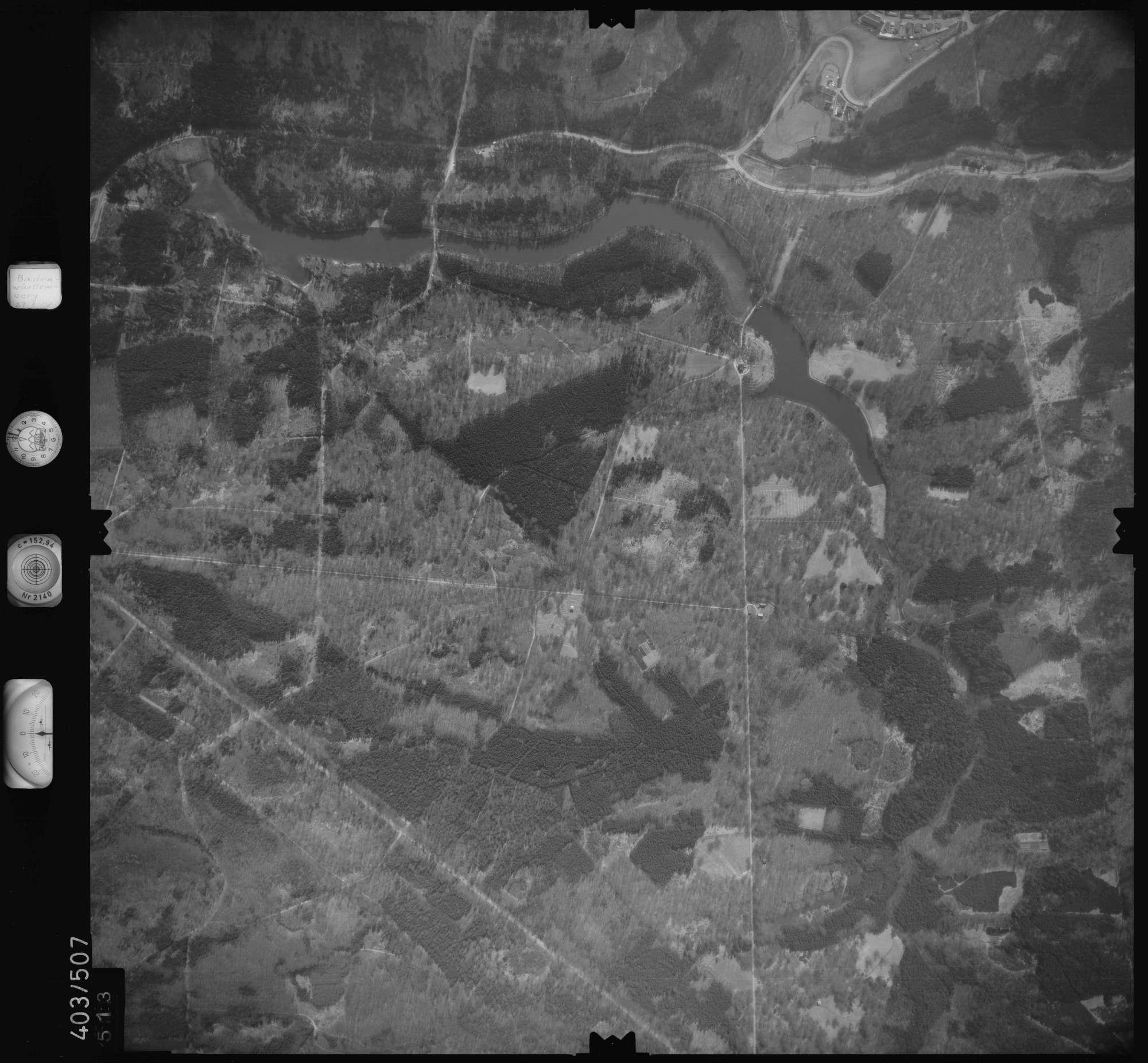 Luftbild: Film 10 Bildnr. 513, Bild 1