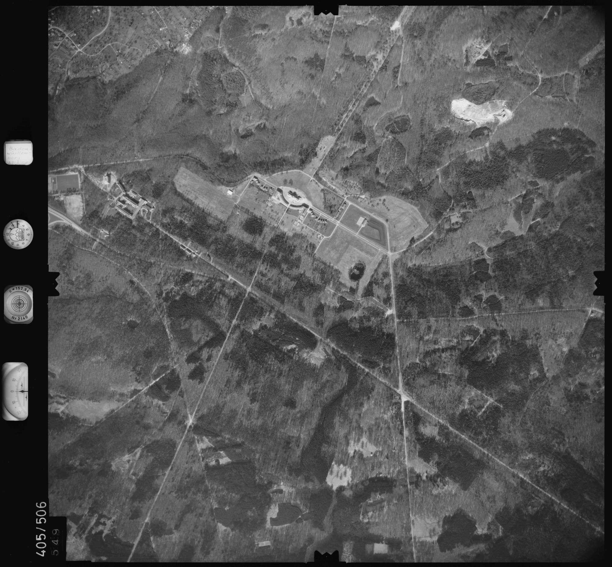Luftbild: Film 10 Bildnr. 549, Bild 1