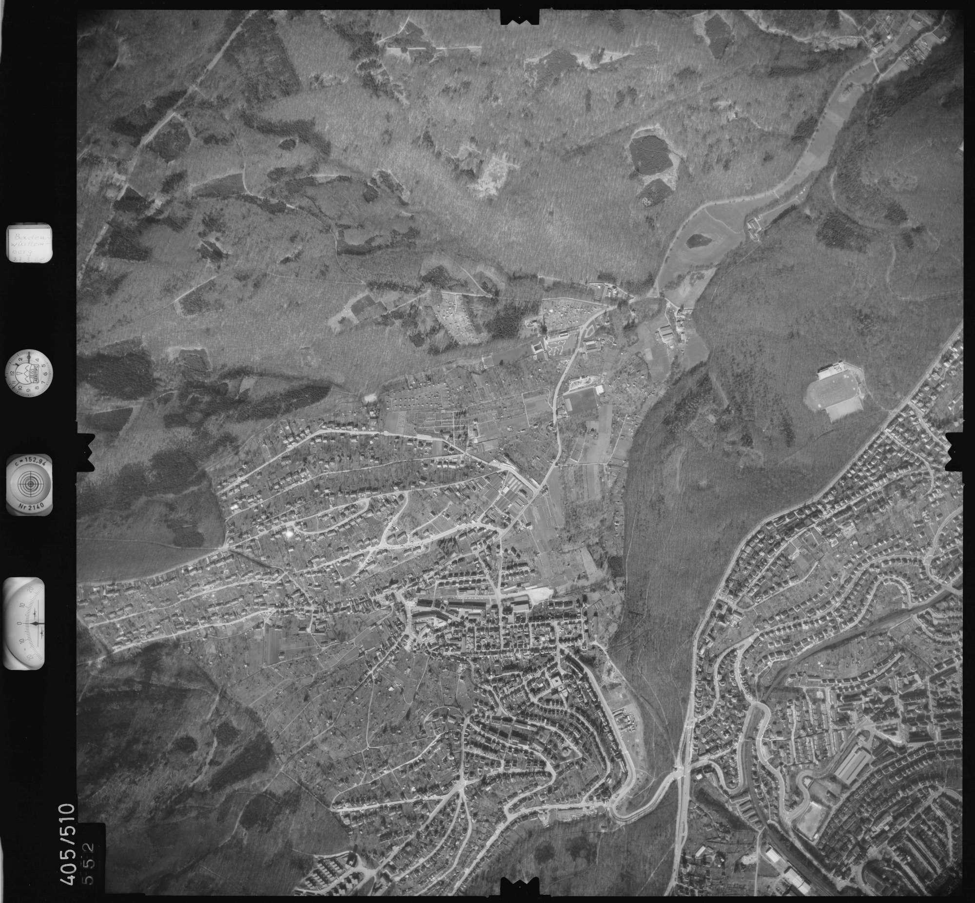 Luftbild: Film 10 Bildnr. 552, Bild 1