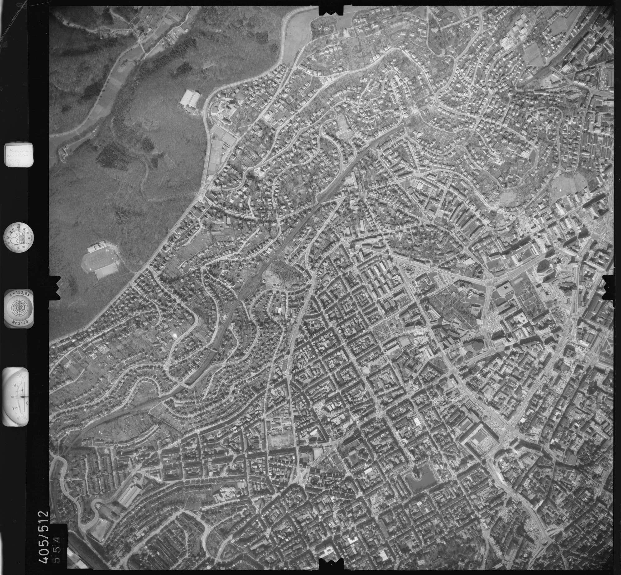 Luftbild: Film 10 Bildnr. 554, Bild 1