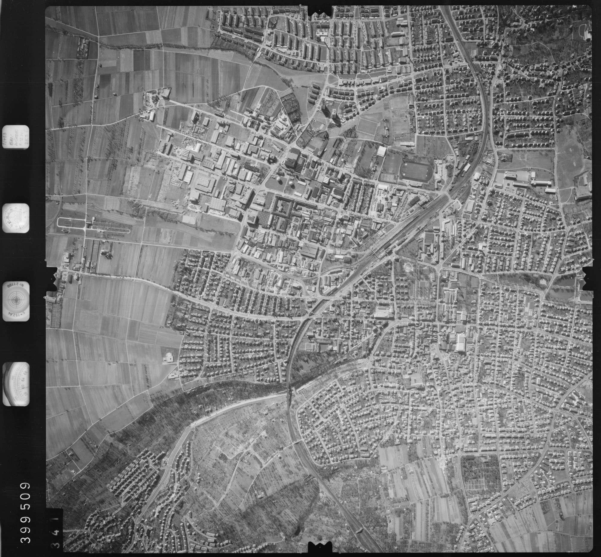 Luftbild: Film 13 Bildnr. 341, Bild 1
